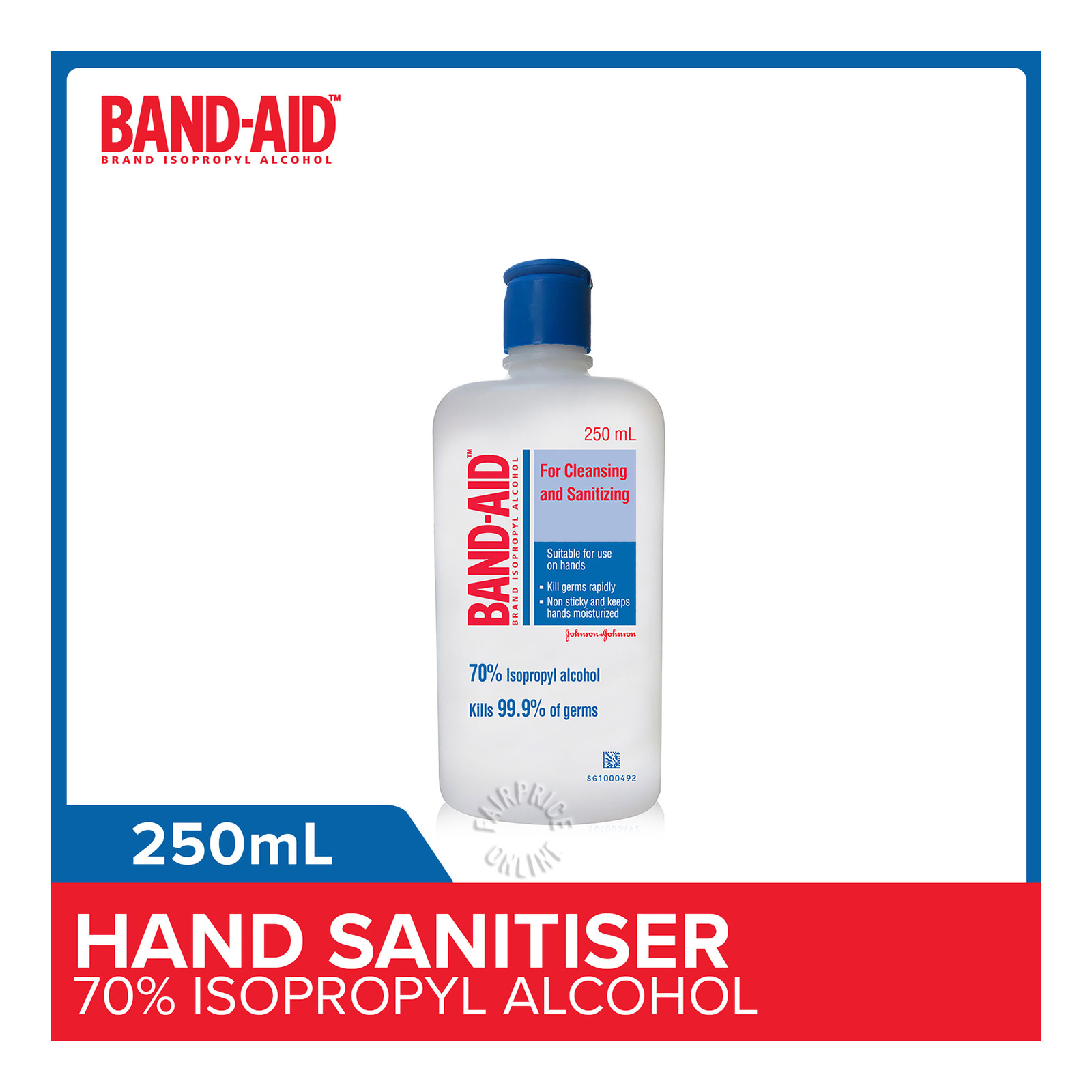 Band-Aid Isopropyl Alcohol (70%)