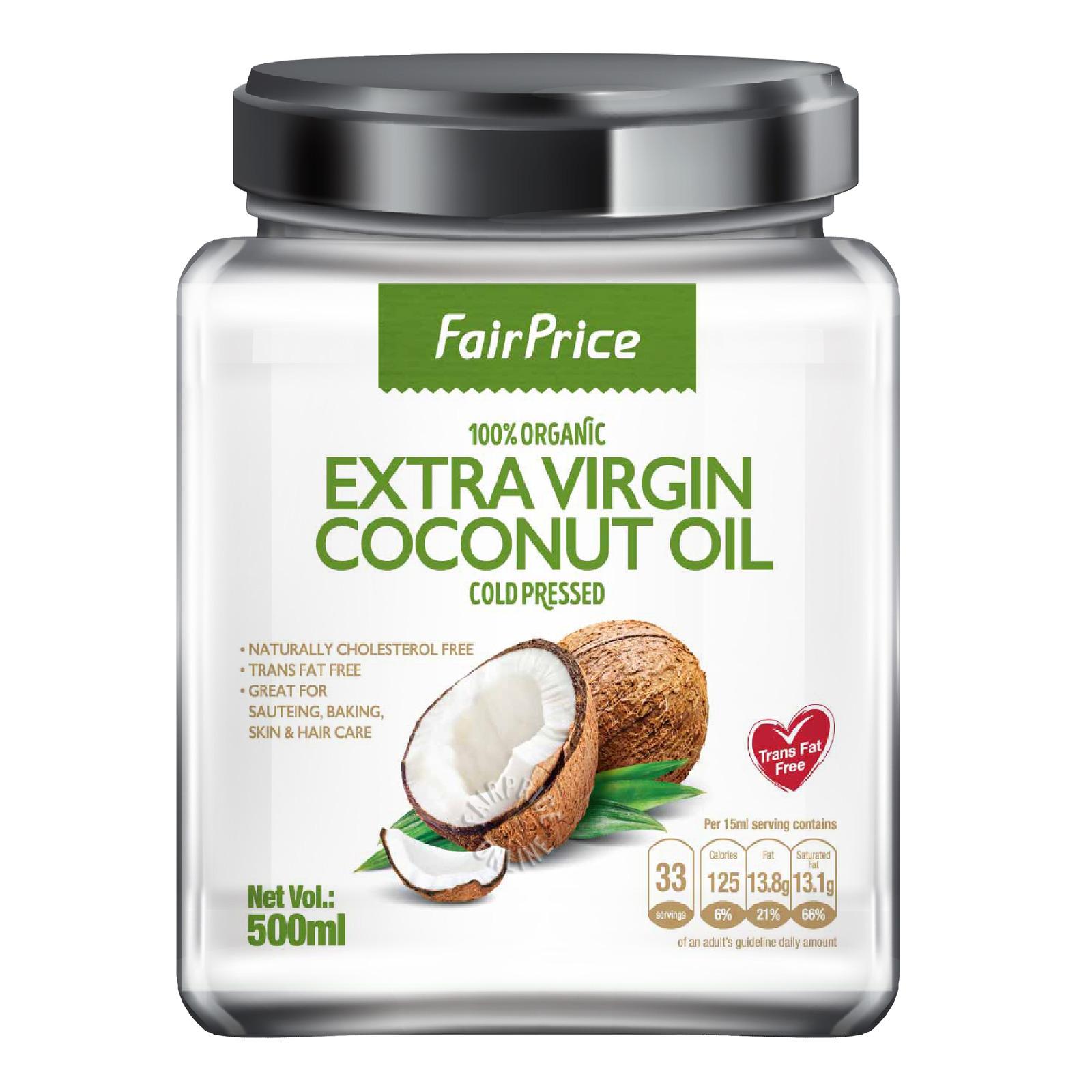 FairPrice Extra Virgin Coconut Oil (Cold Pressed)