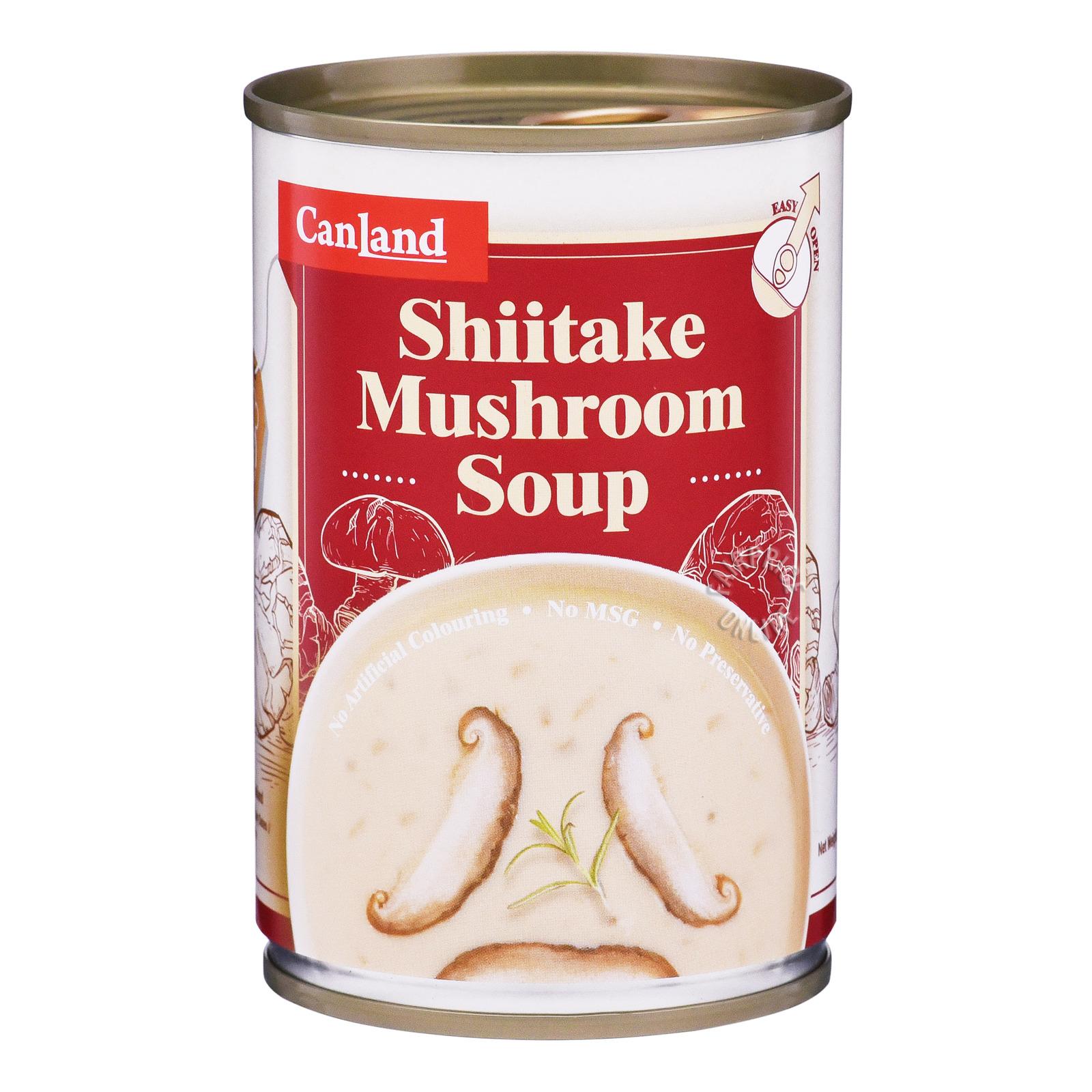 Canland Canned Soup - Shiitake Mushroom