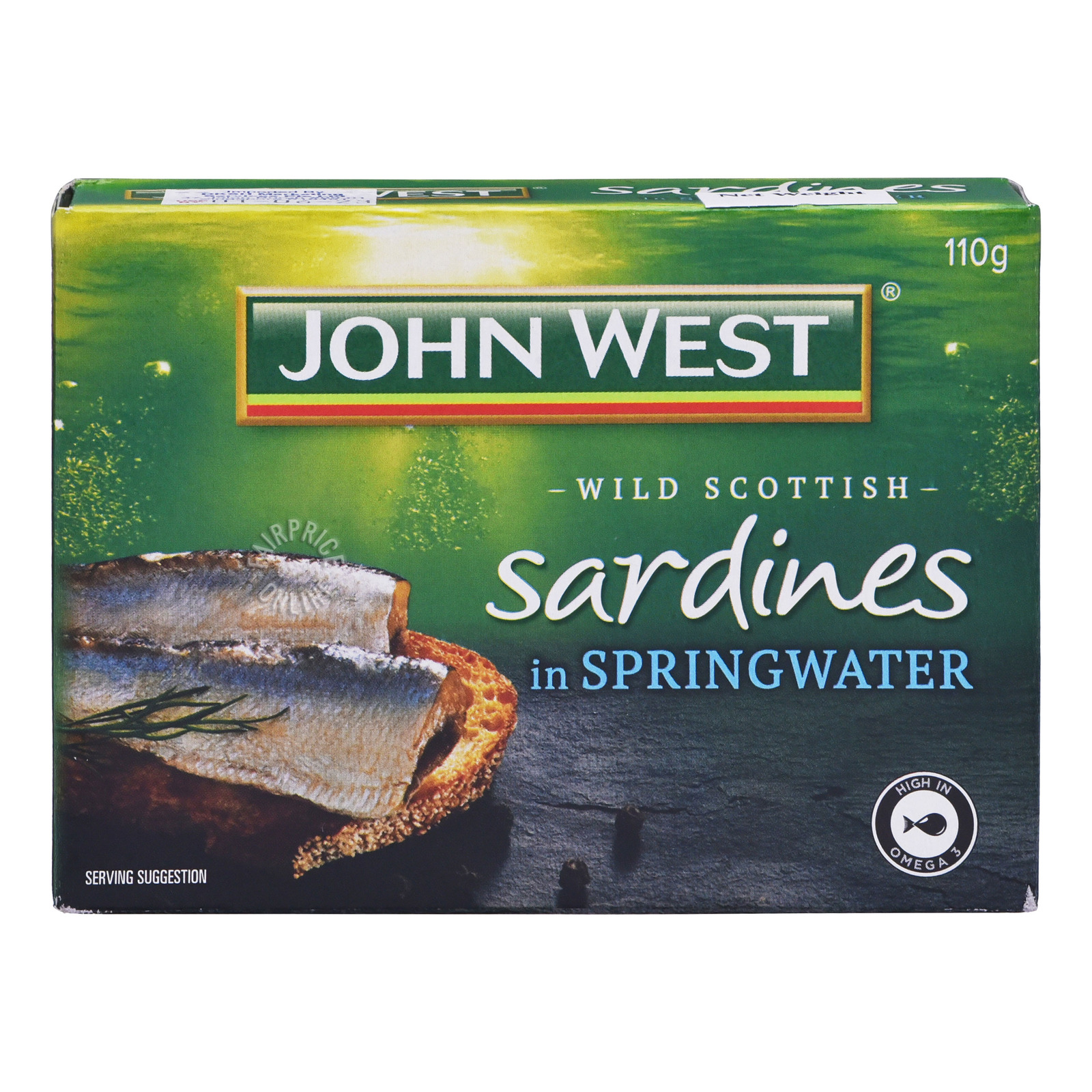 John West Sardines in Springwater