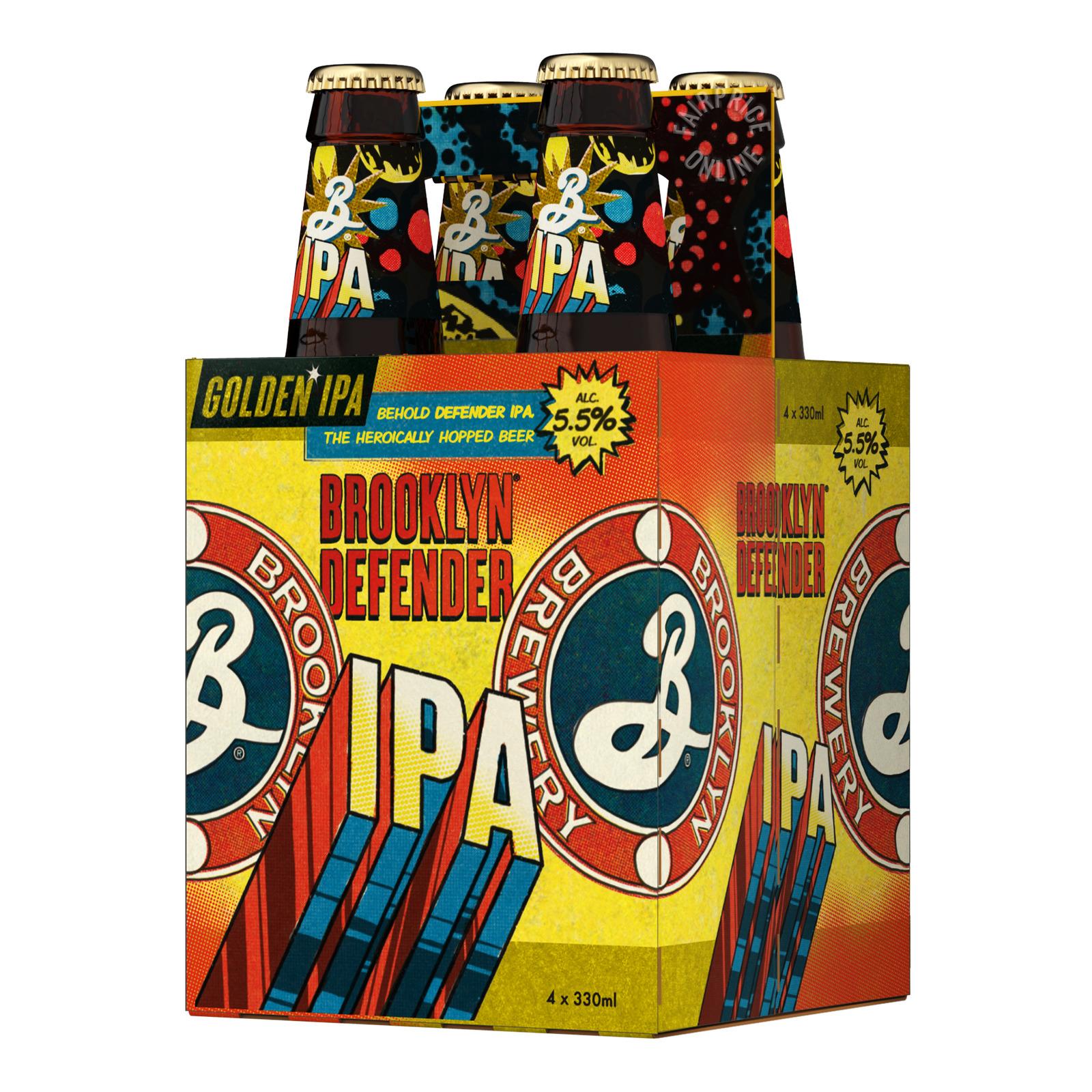 Brooklyn Brewery Can Beer - Defender IPA