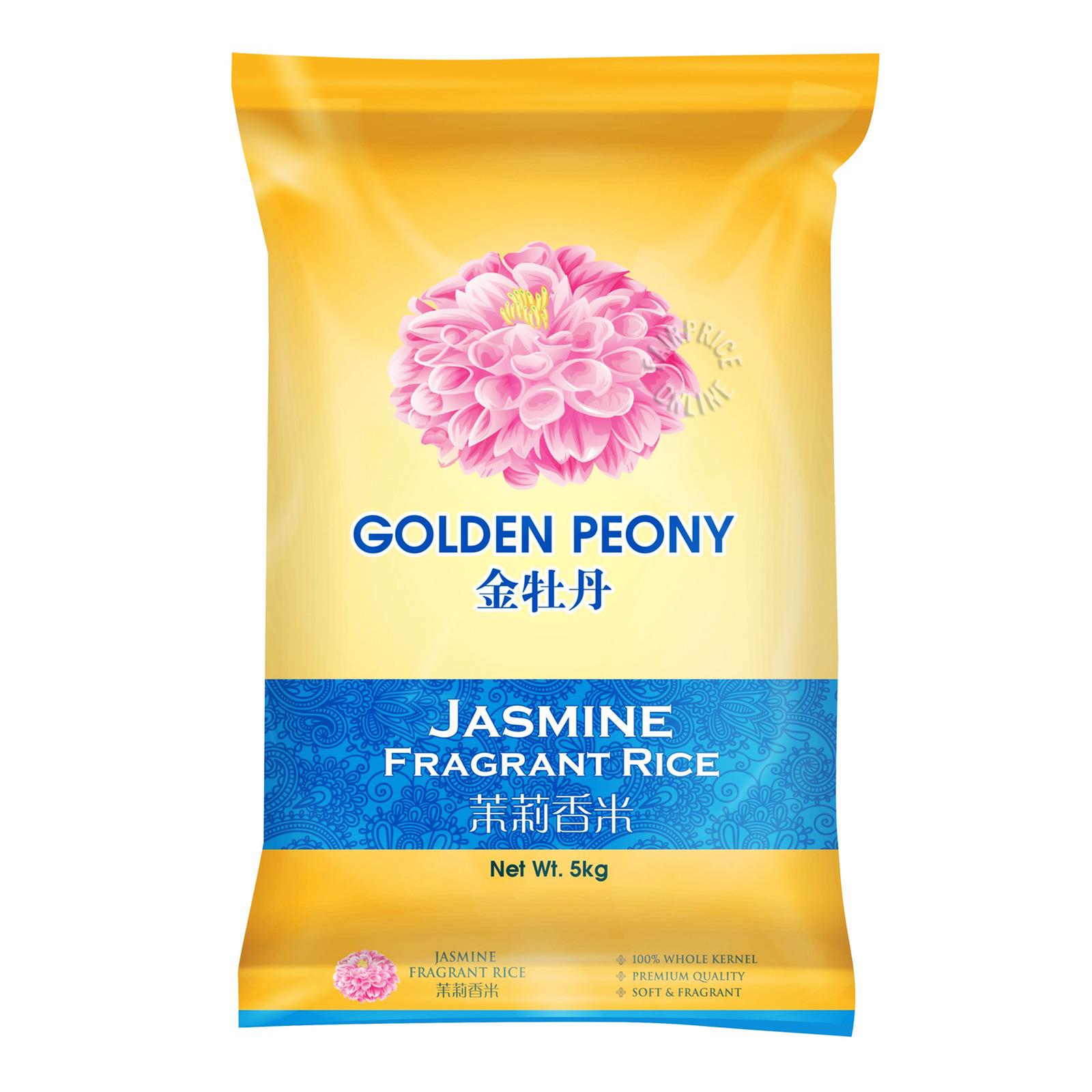 Golden Peony Jasmine Fragrant Rice