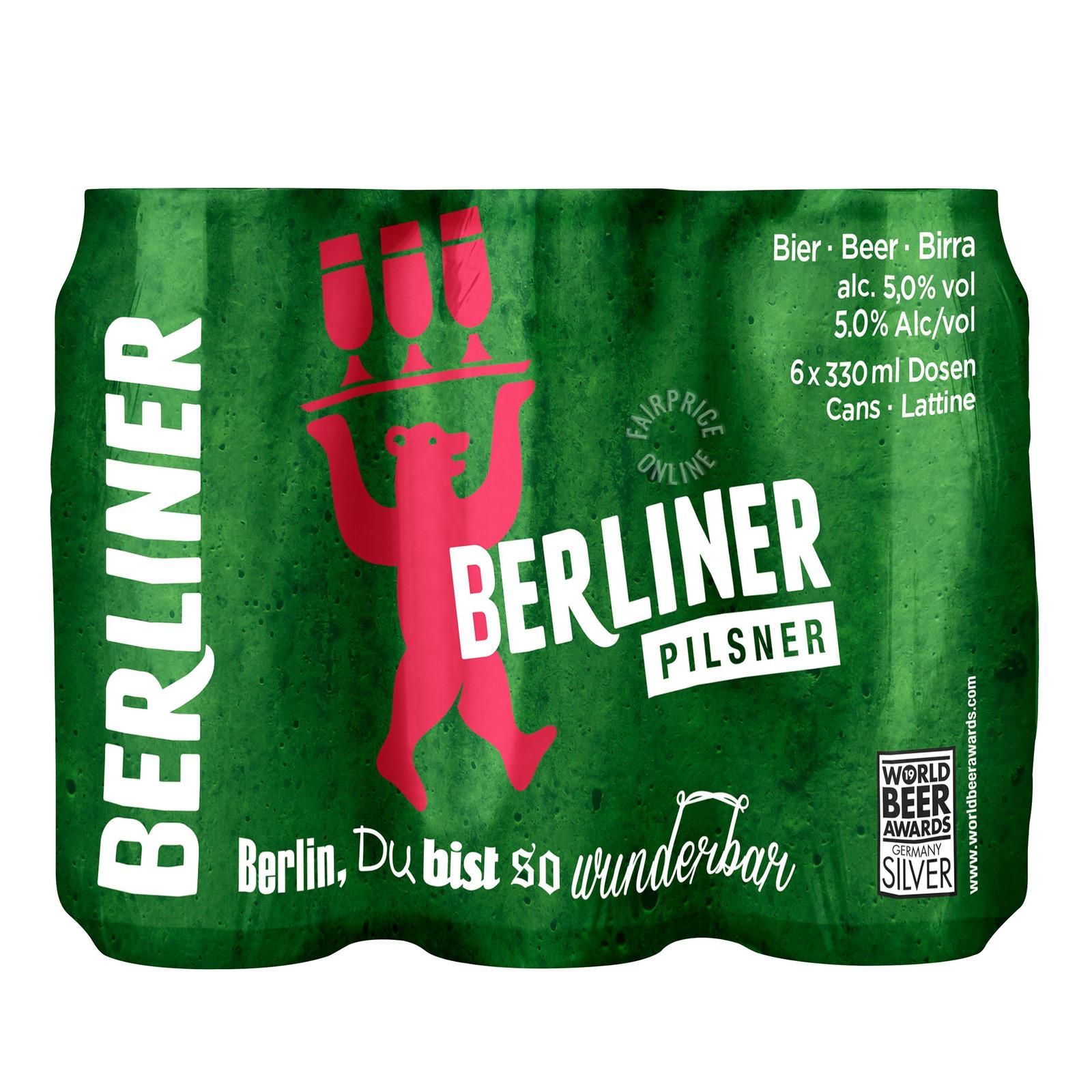 Berliner Can Beer - Pilsner