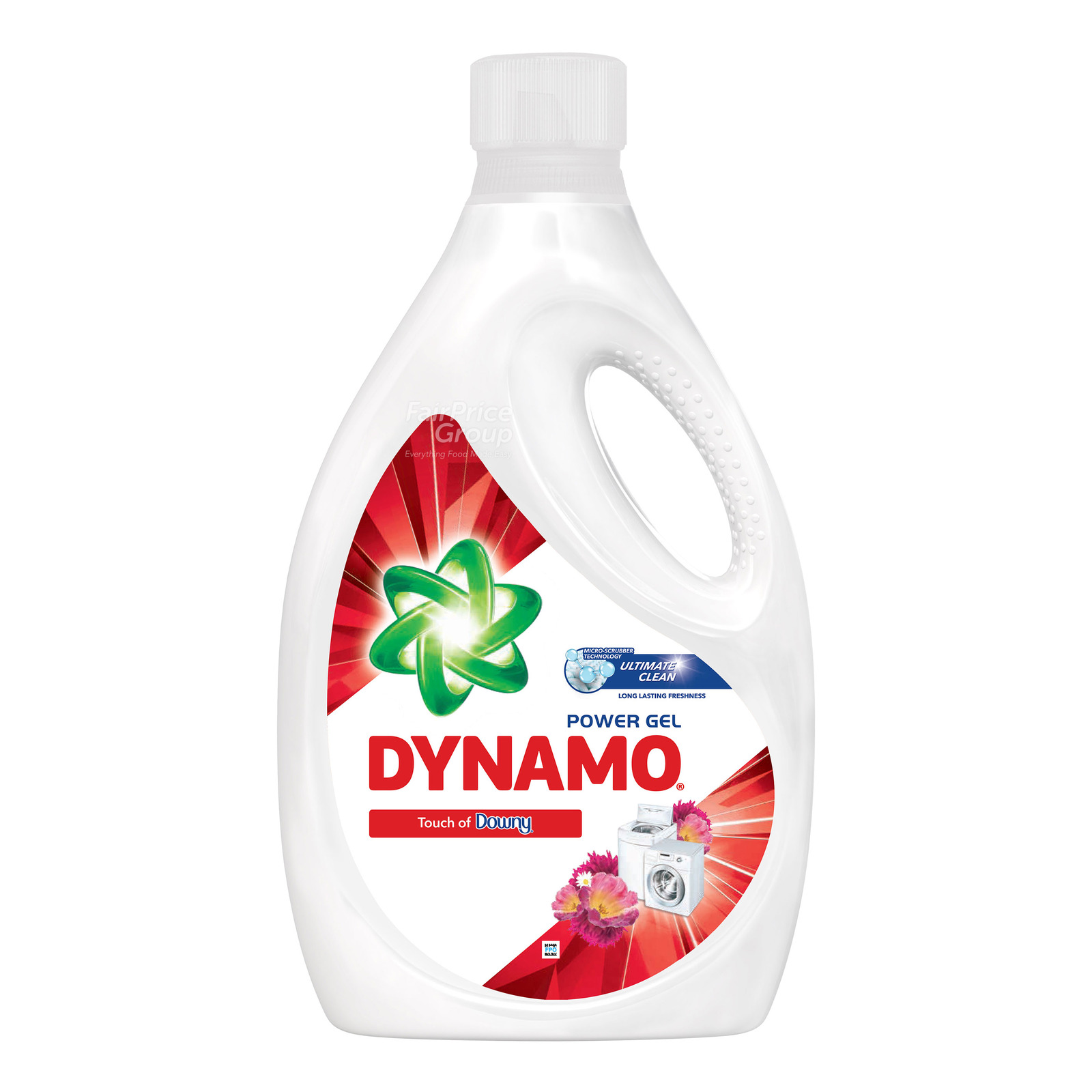 Dynamo Power Gel Laundry Detergent - Touch of Downy