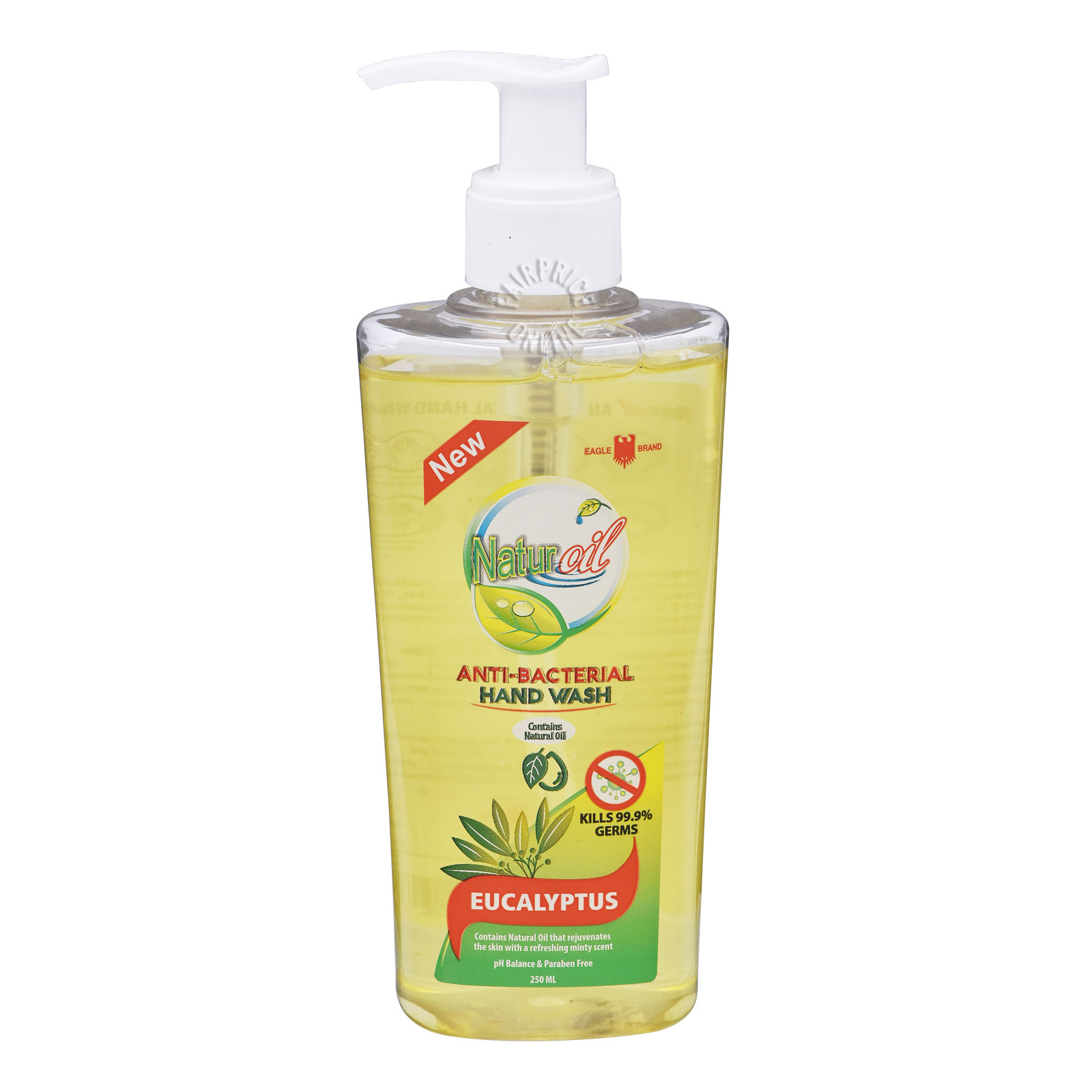 Eagle Brand Natur Oil Anti-Bacterial Hand Wash - Eucalyptus