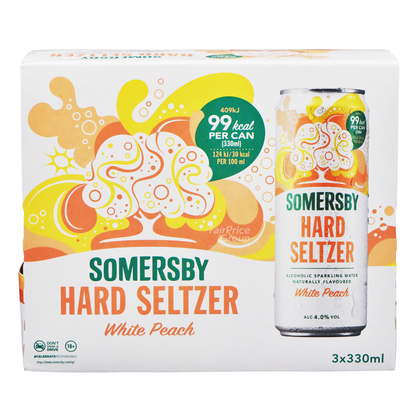Somersby Hard Seltzer Can Drink - Lime