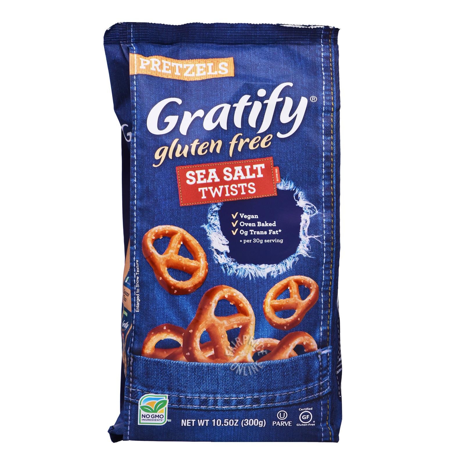 Gratify Pretzels - Sea Salt (Twist)