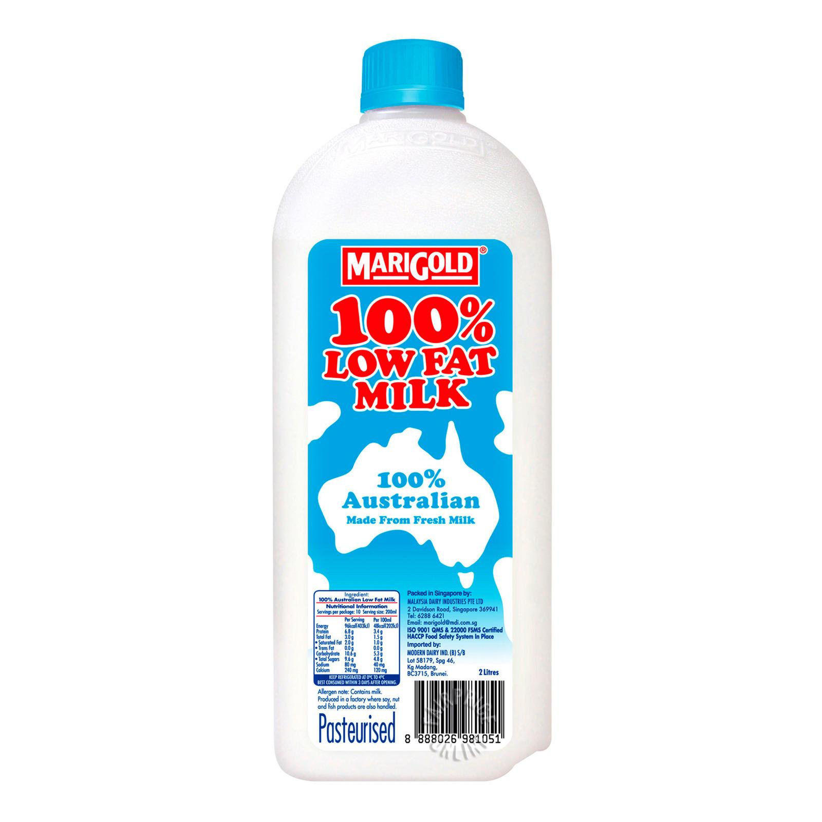 Marigold 100% Low Fat Bottle Milk