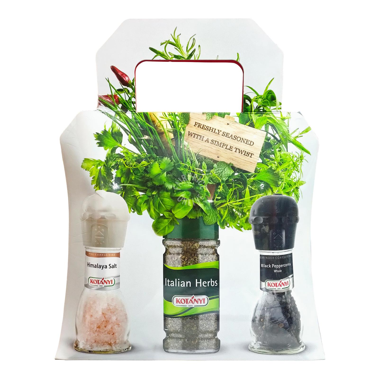 Kotanyi Herbs & Seasoning Festive Set