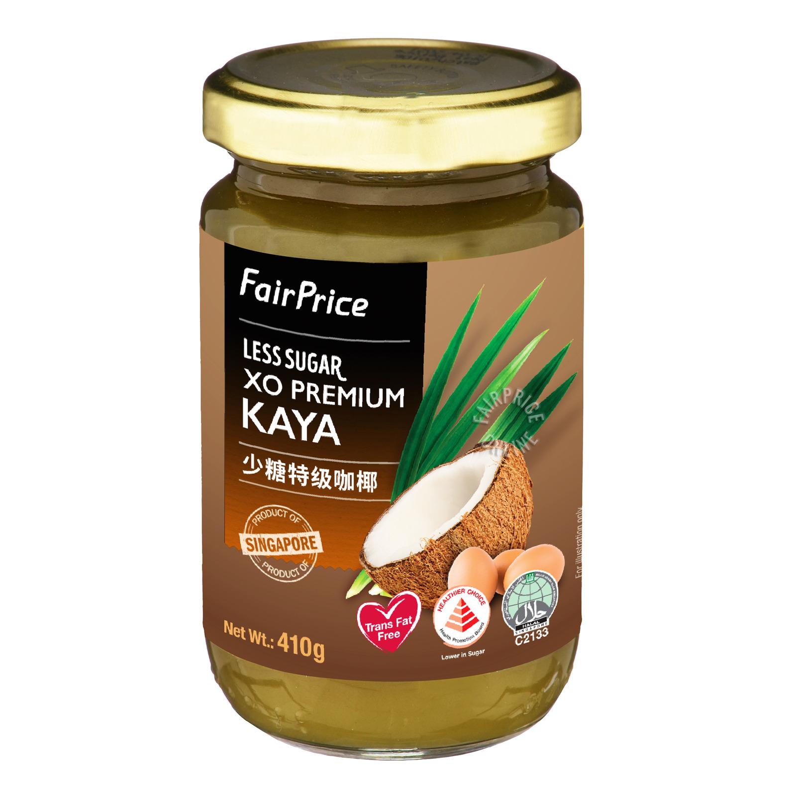 FairPrice XO Premium Kaya (Less Sugar)