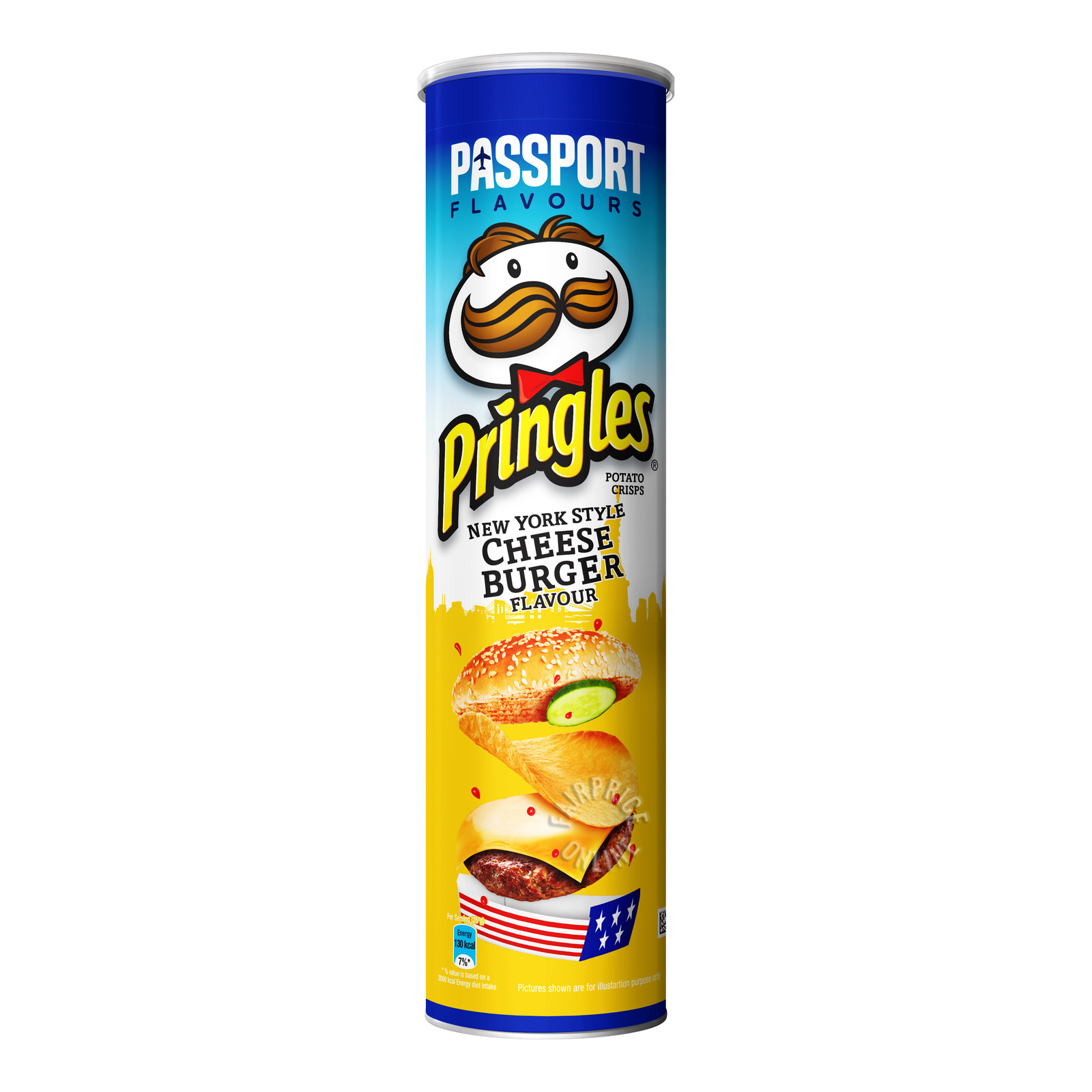 Pringles Potato Chips - New York Style Cheese Burger