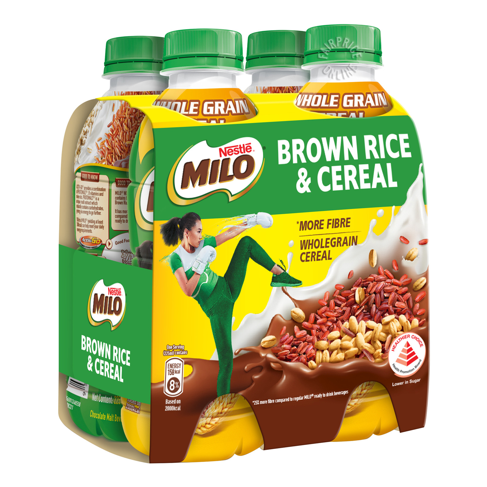 Nestle Milo Whole Grain Cereal Drink - Brown Rice & Cereal