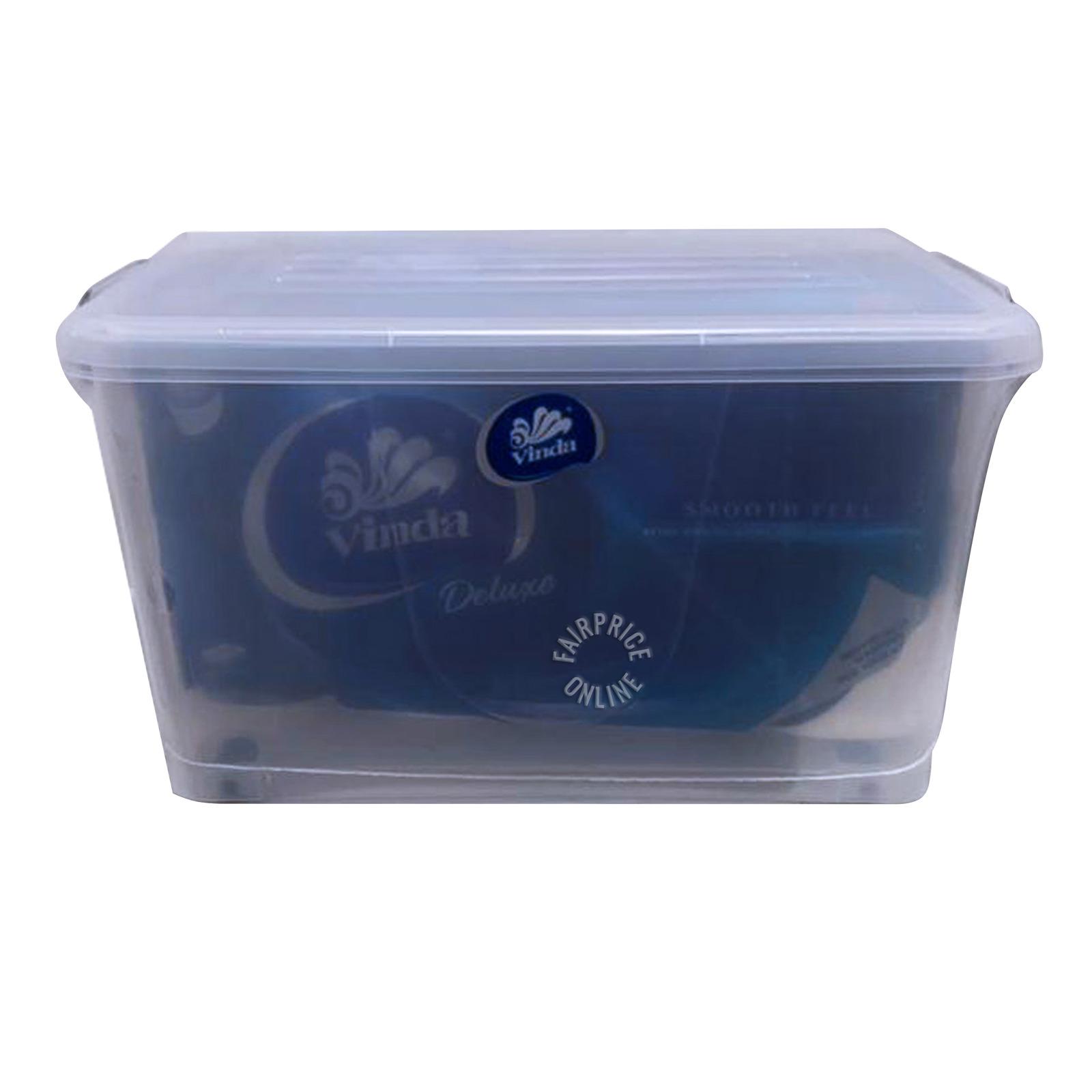 Vinda Deluxe Smooth Feel Toilet Tissue - 3 Ply