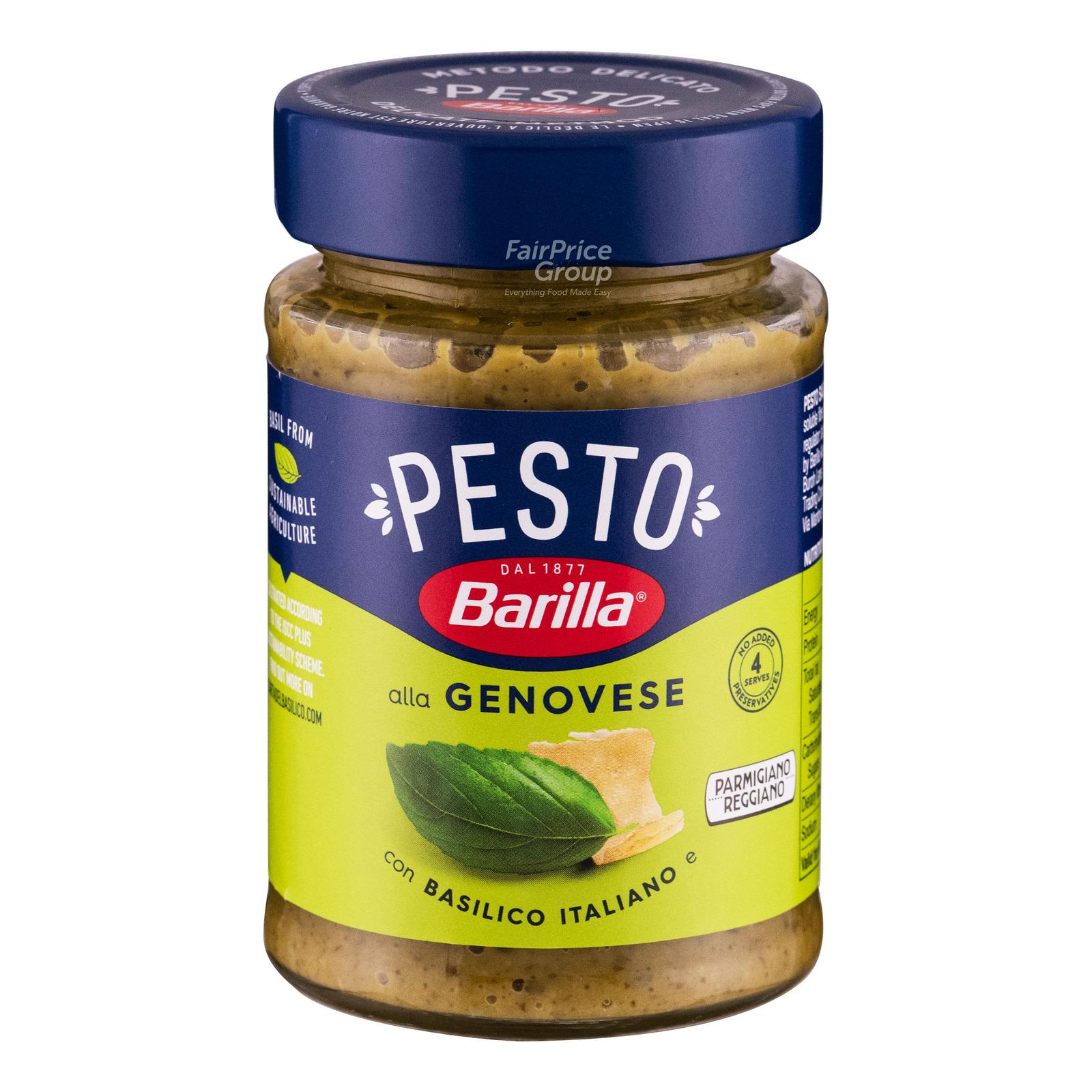 Barilla Pasta Sauce Pesto Genovese Ntuc Fairprice