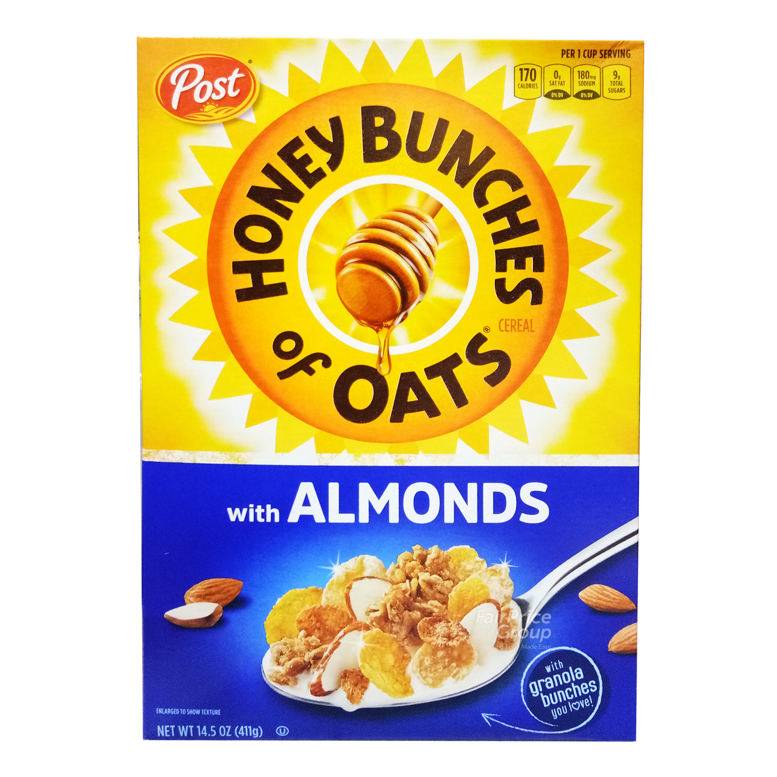 Post Honey Bunches Of Oats Cereal - Crispy Almonds