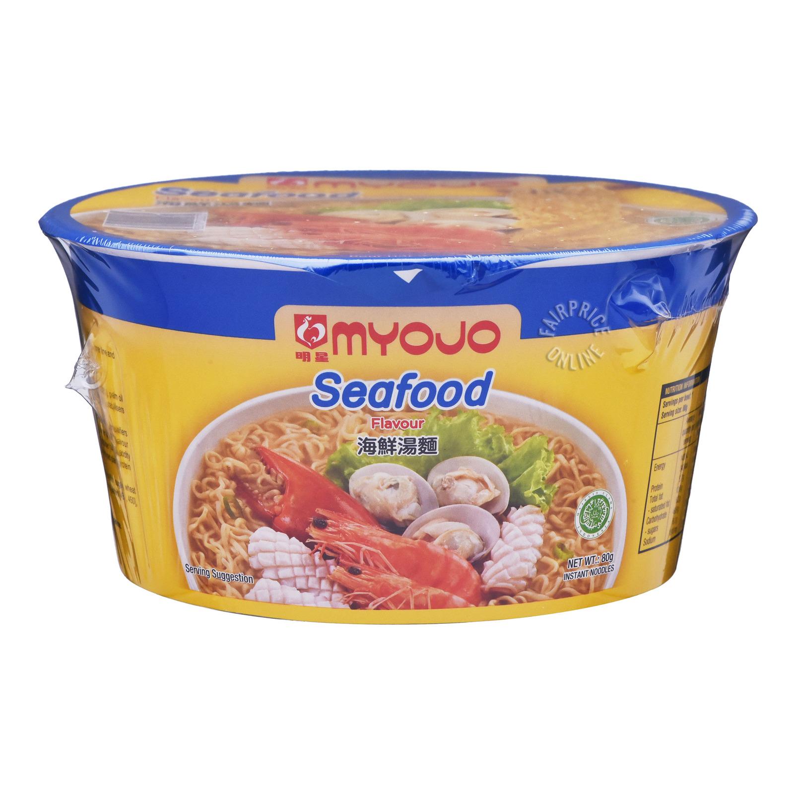 Myojo Instant Bowl Noodles - Seafood