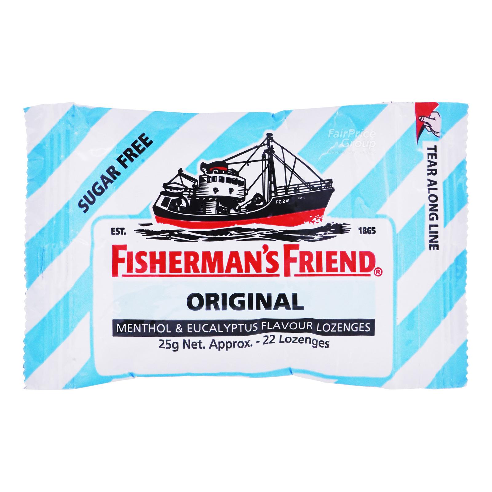 Fisherman's Friend Sugar Free Lozenges - Original (Extra Strong)