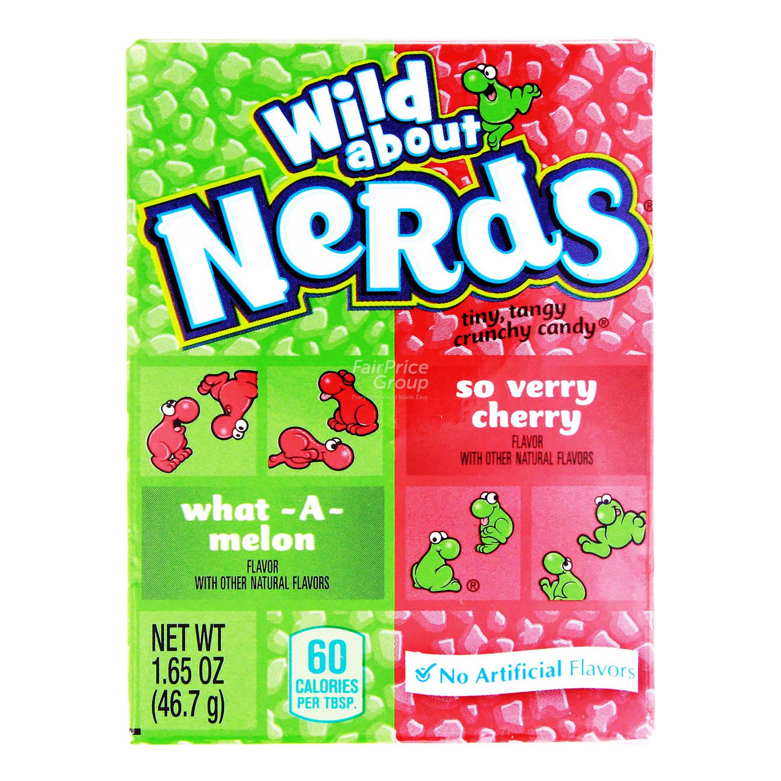 Nestle Nerds Candies - Watermelon & Cherry