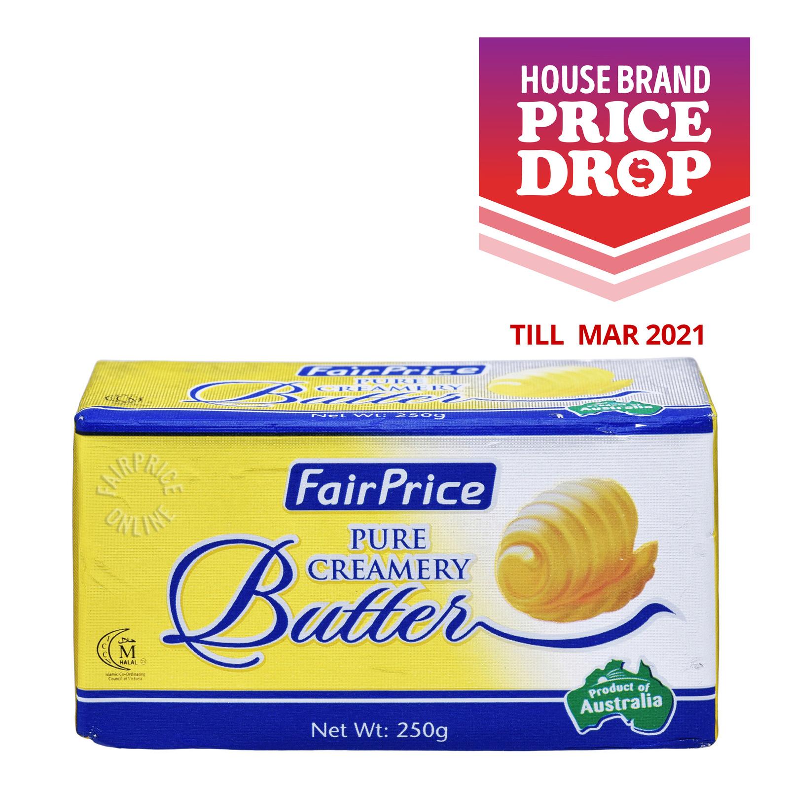 FairPrice Block Butter - Pure Creamery