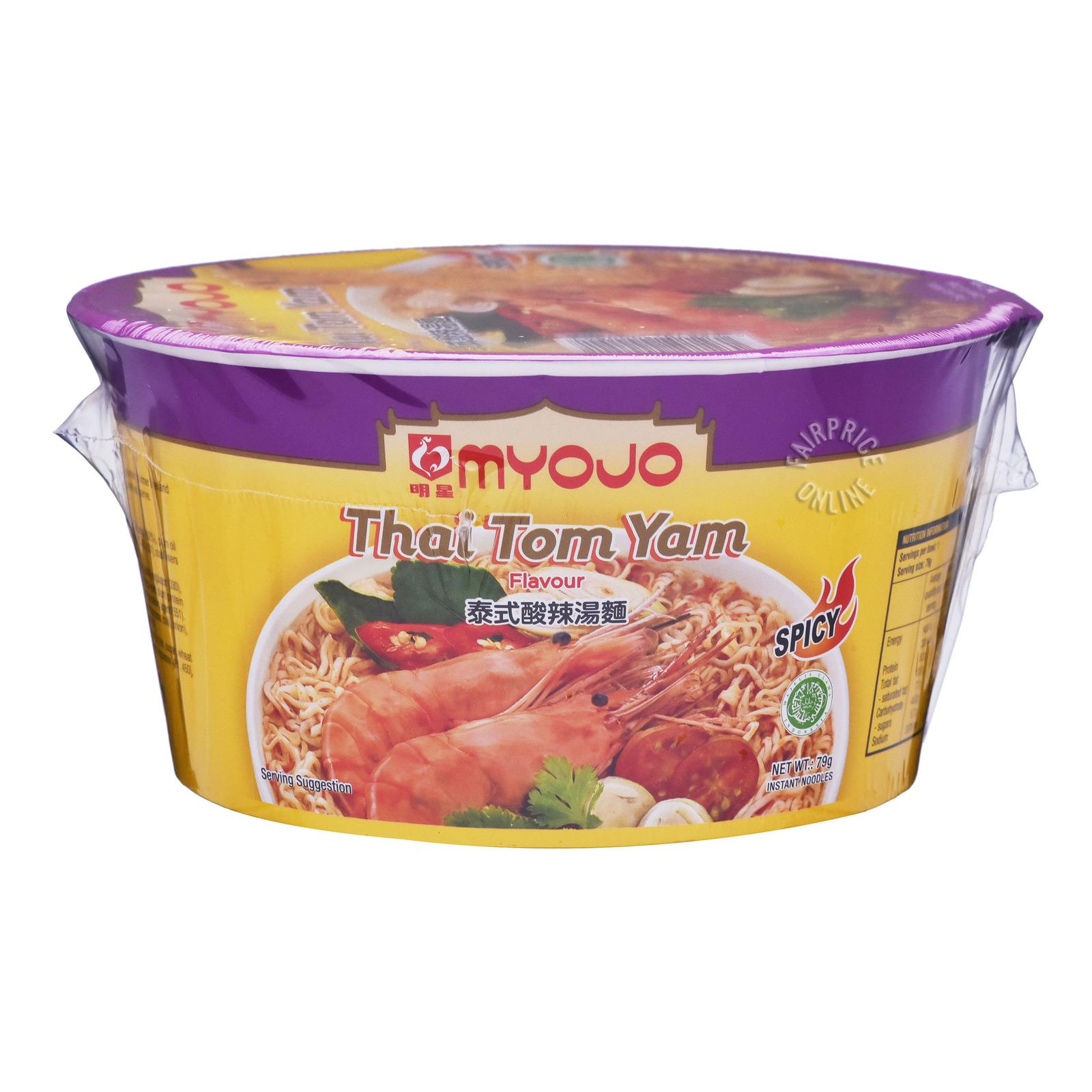 Myojo Instant Bowl Noodles - Thai Tom Yam