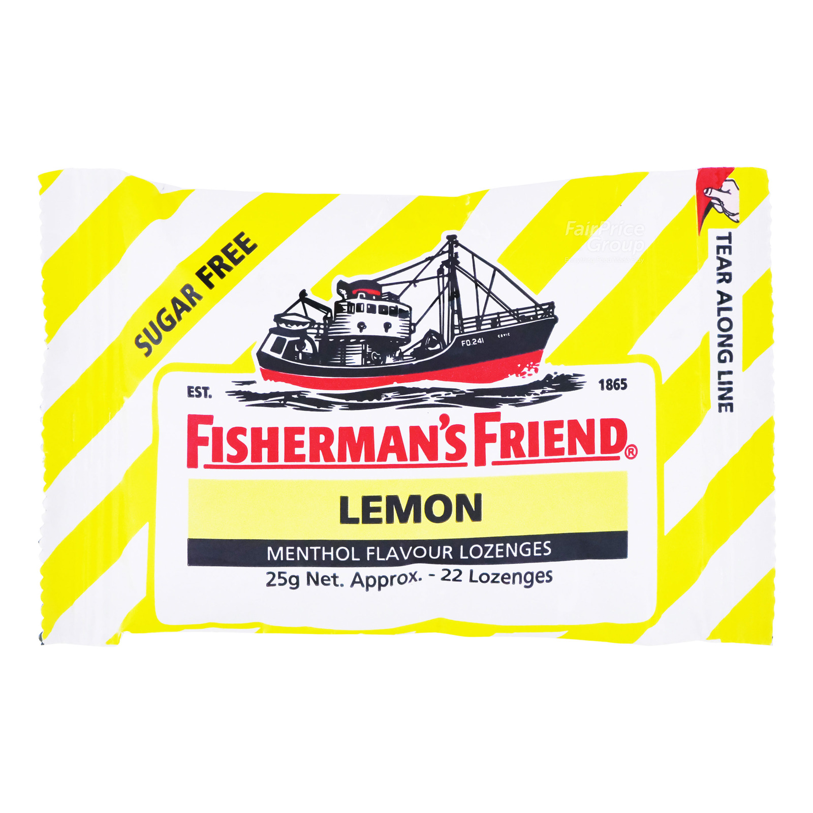 Fisherman's Friend Sugar Free Honey & Lemon Lozenges, 25g