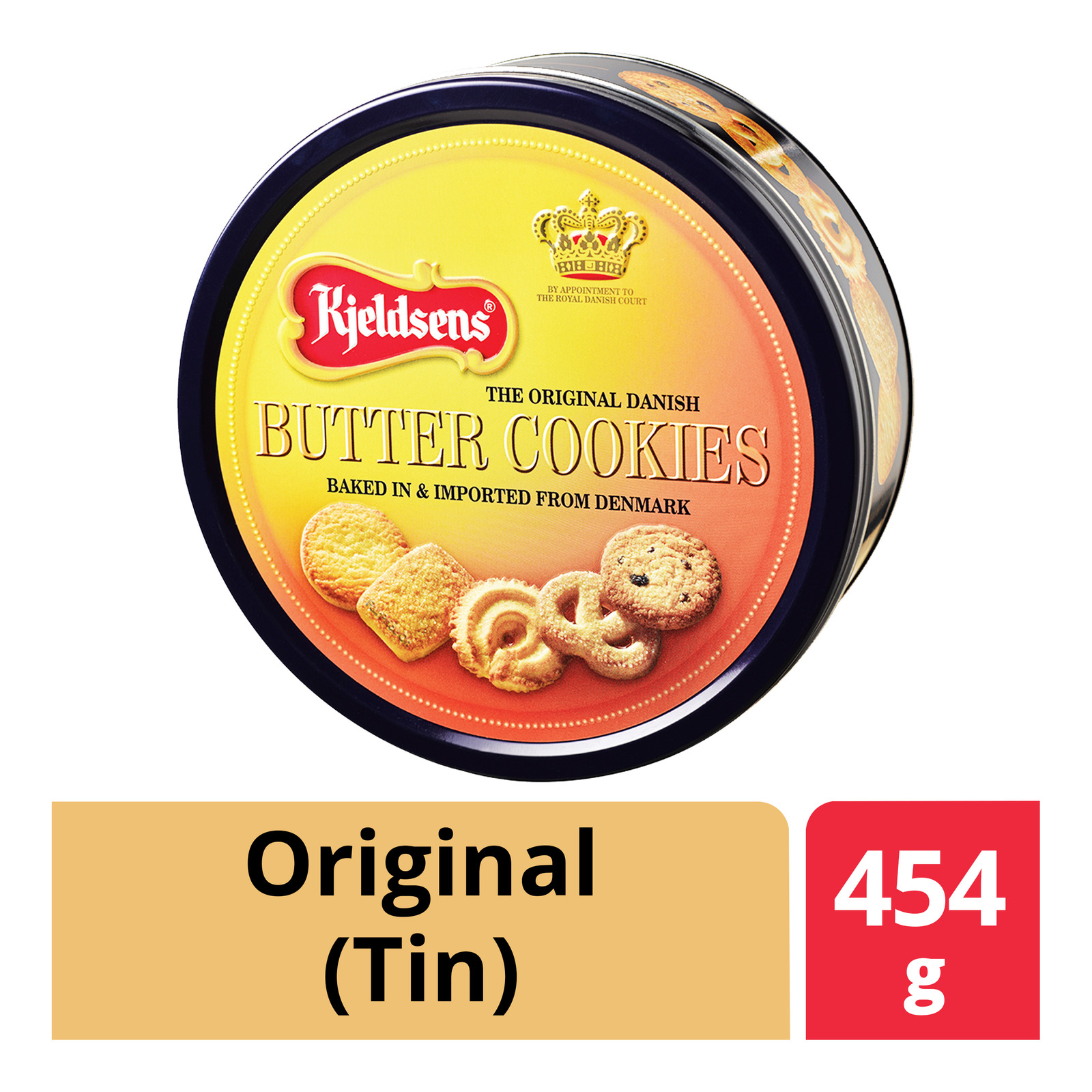 Kjeldsens Cookies Tin - Butter