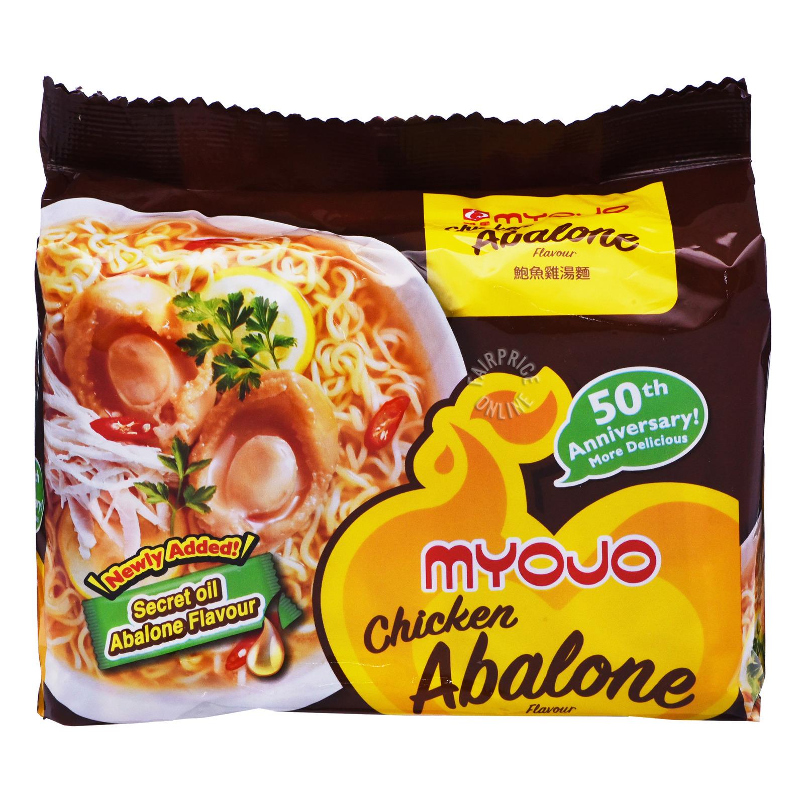 Myojo Instant Noodles - Chicken Abalone