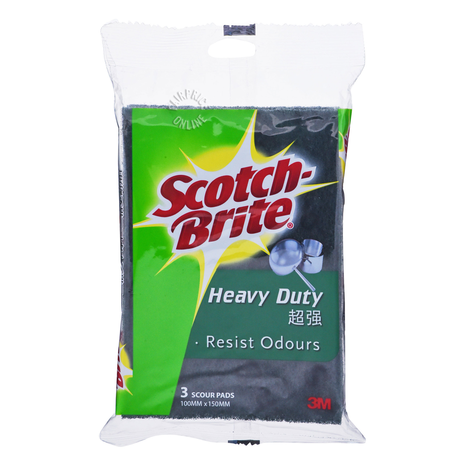 3M Scotch-Brite Scour Pads - Heavy Duty
