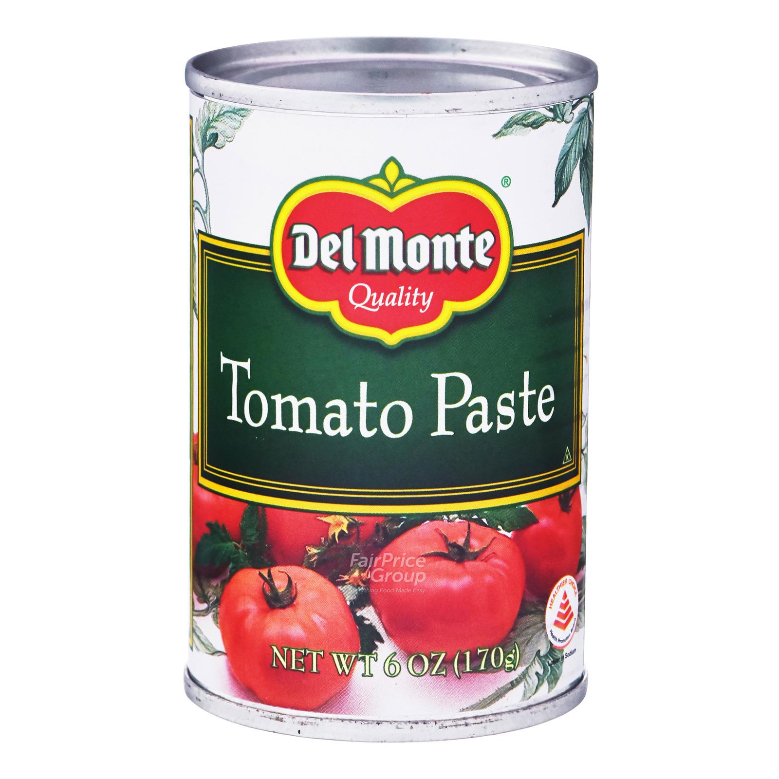 Del Monte 100% Natural Tomato Paste