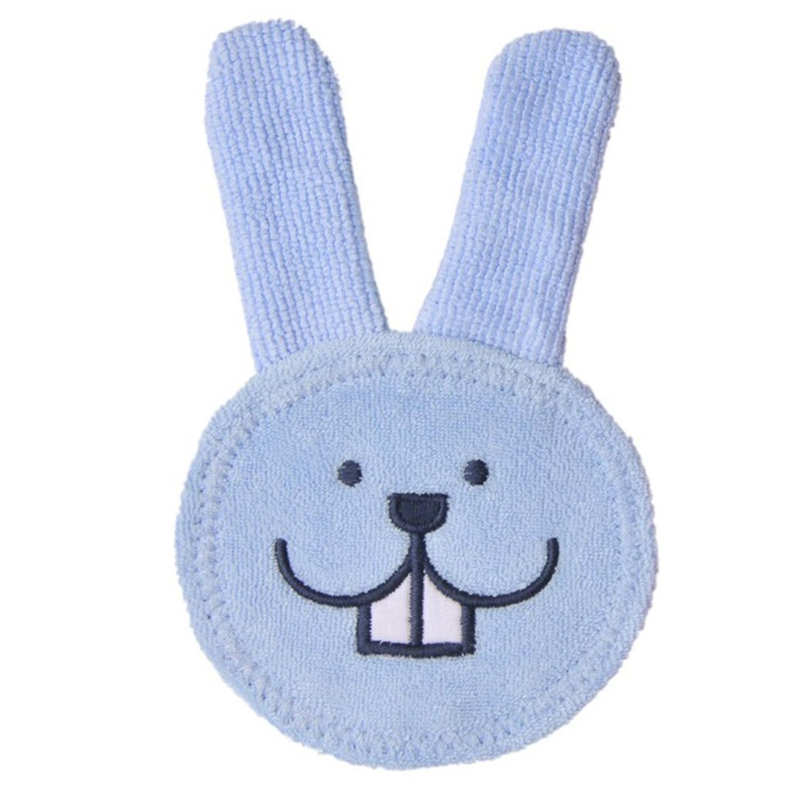 MAM Oral Care Rabbit Teething Glove - Blue
