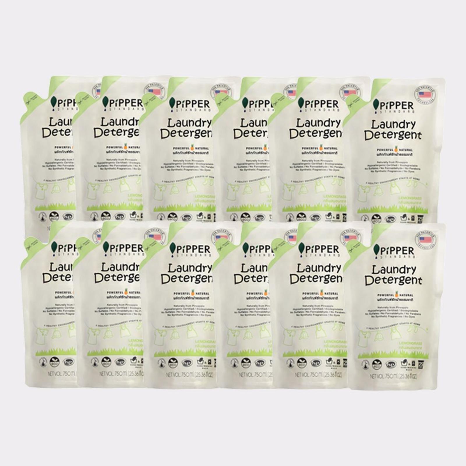 PiPPER Standard Laundry Detergent Lemongrass Refill