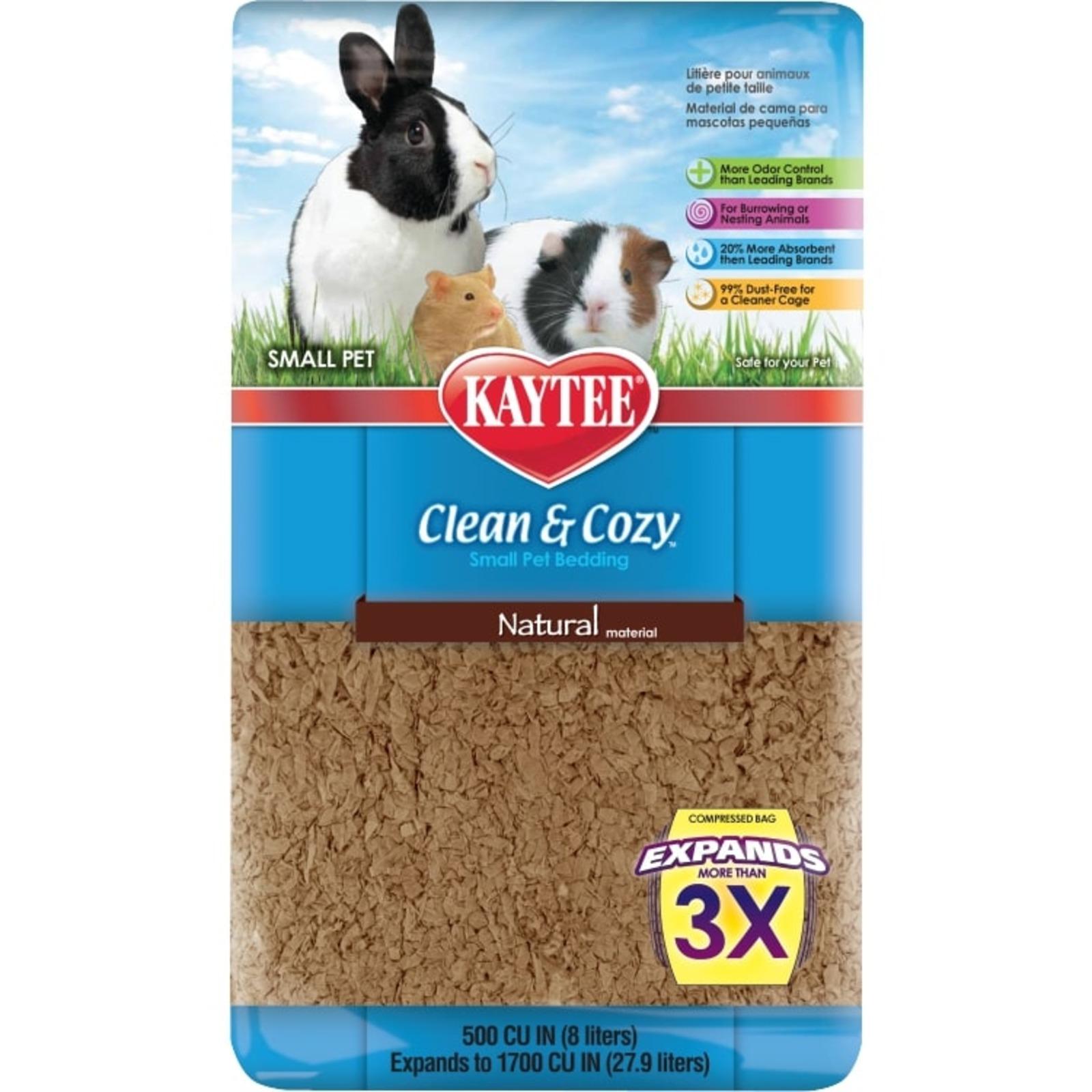 Kaytee Clean & Cozy Natural 500Cu In (8L)