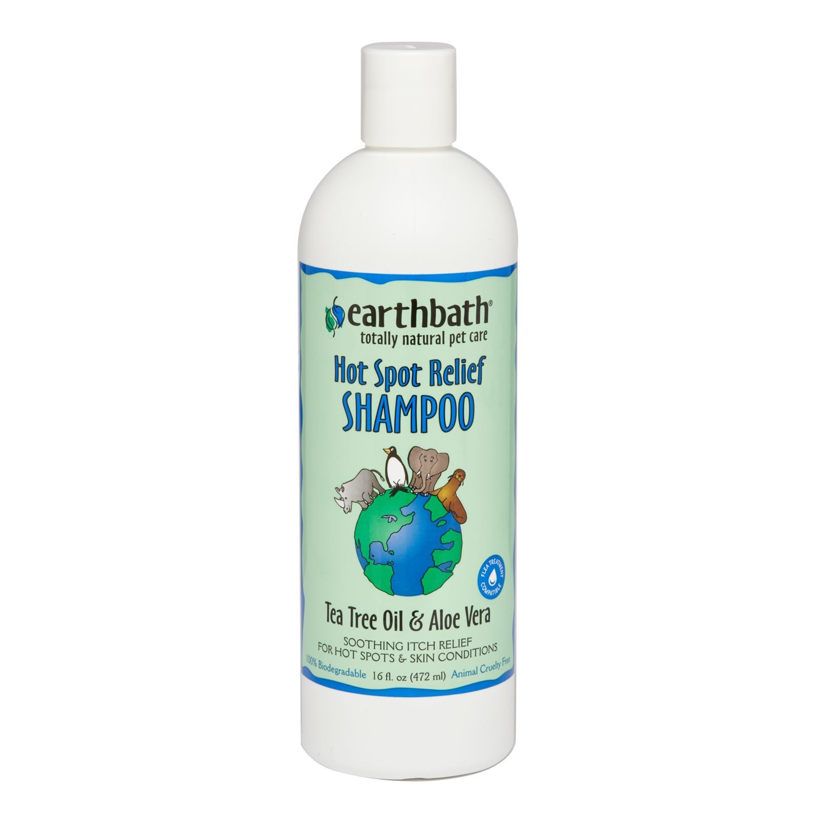 Earthbath Tea Tree & Aloe Vera Shampoo