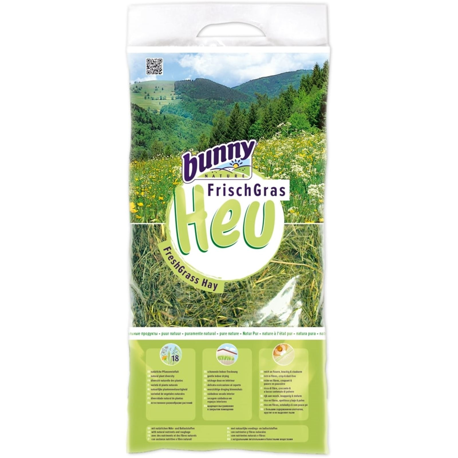Bunny Nature Freshgrass Hay