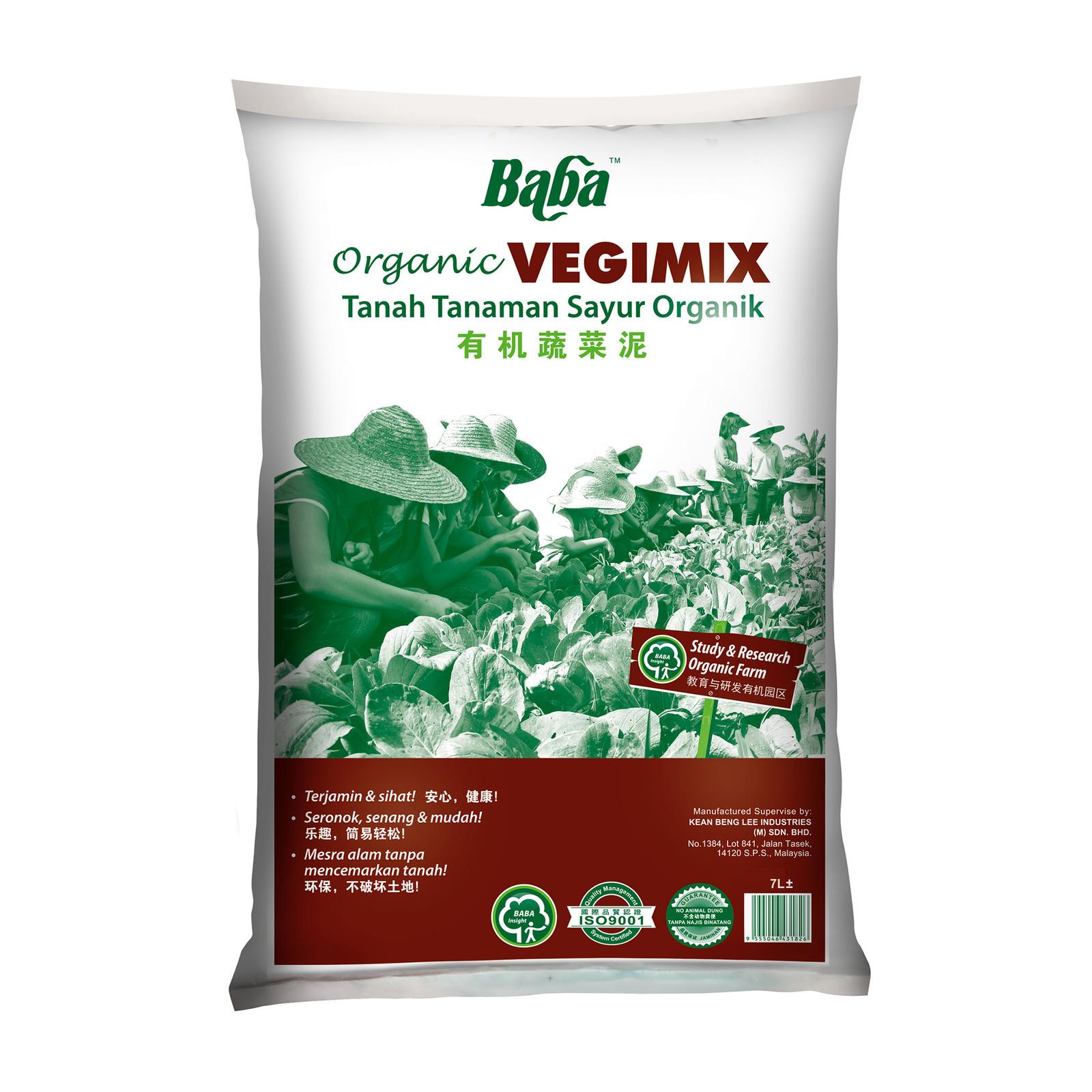 Baba Vegimix Organic Soil