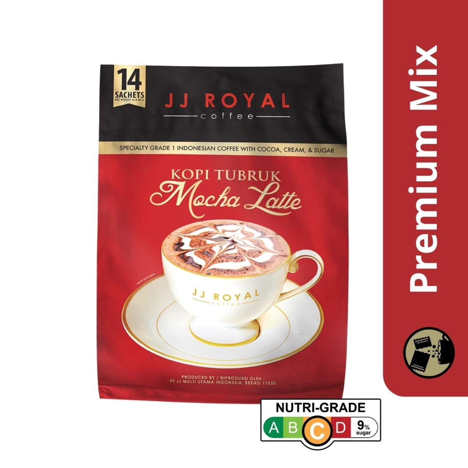 JJ Royal Coffee Mocha Latte (Premix)