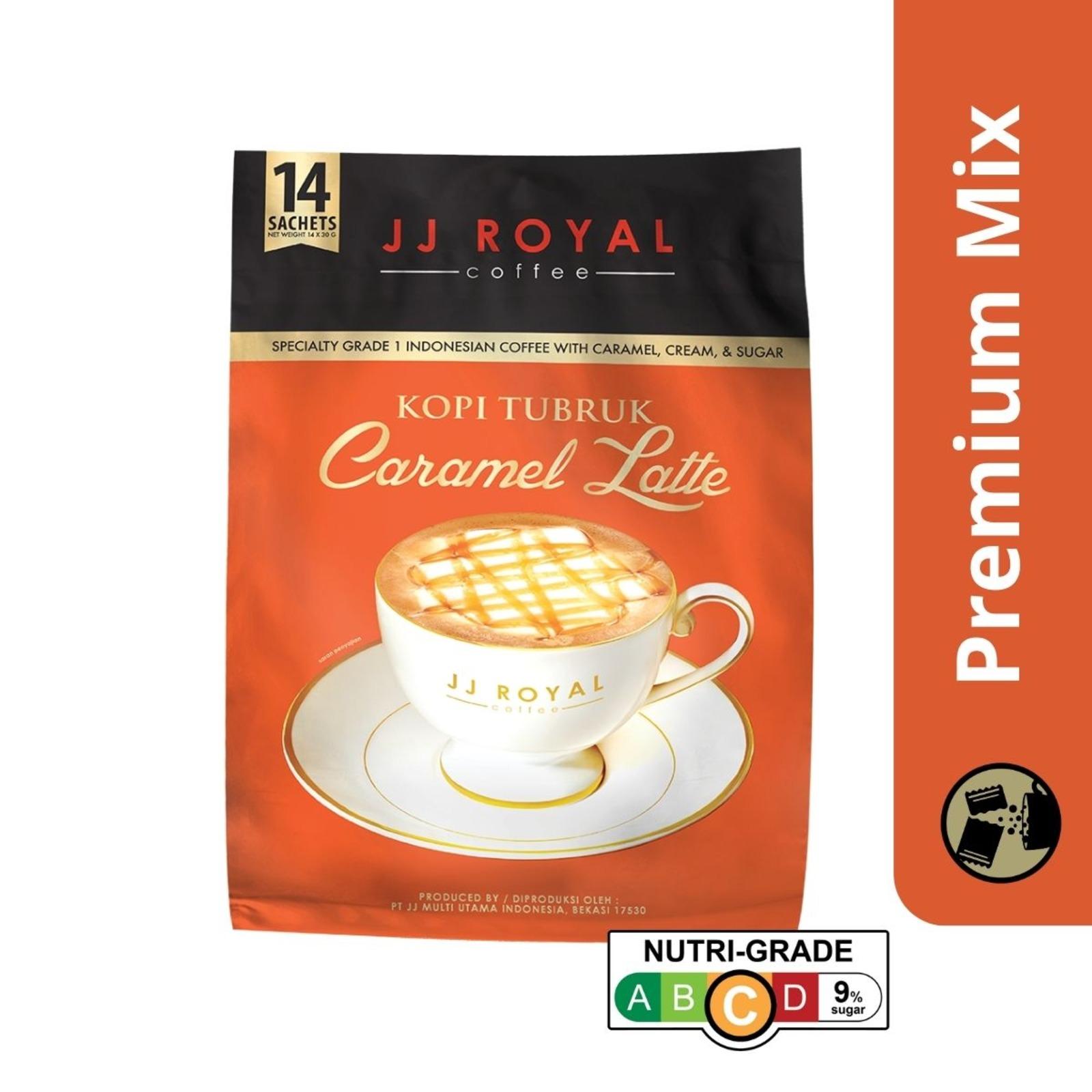 JJ Royal Coffee Caramel Latte (Premix)