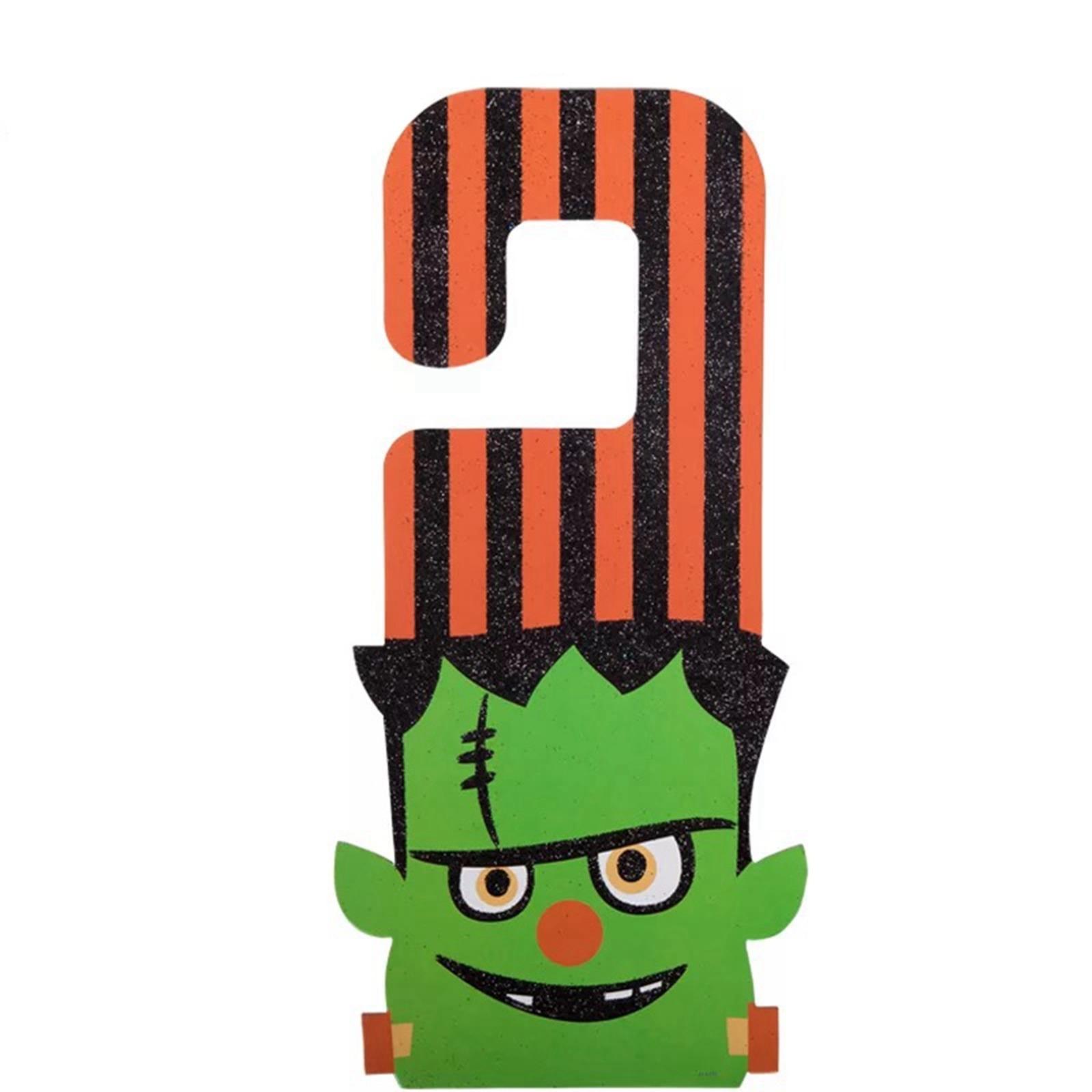 Halloween Door Hanger - Frankenstein