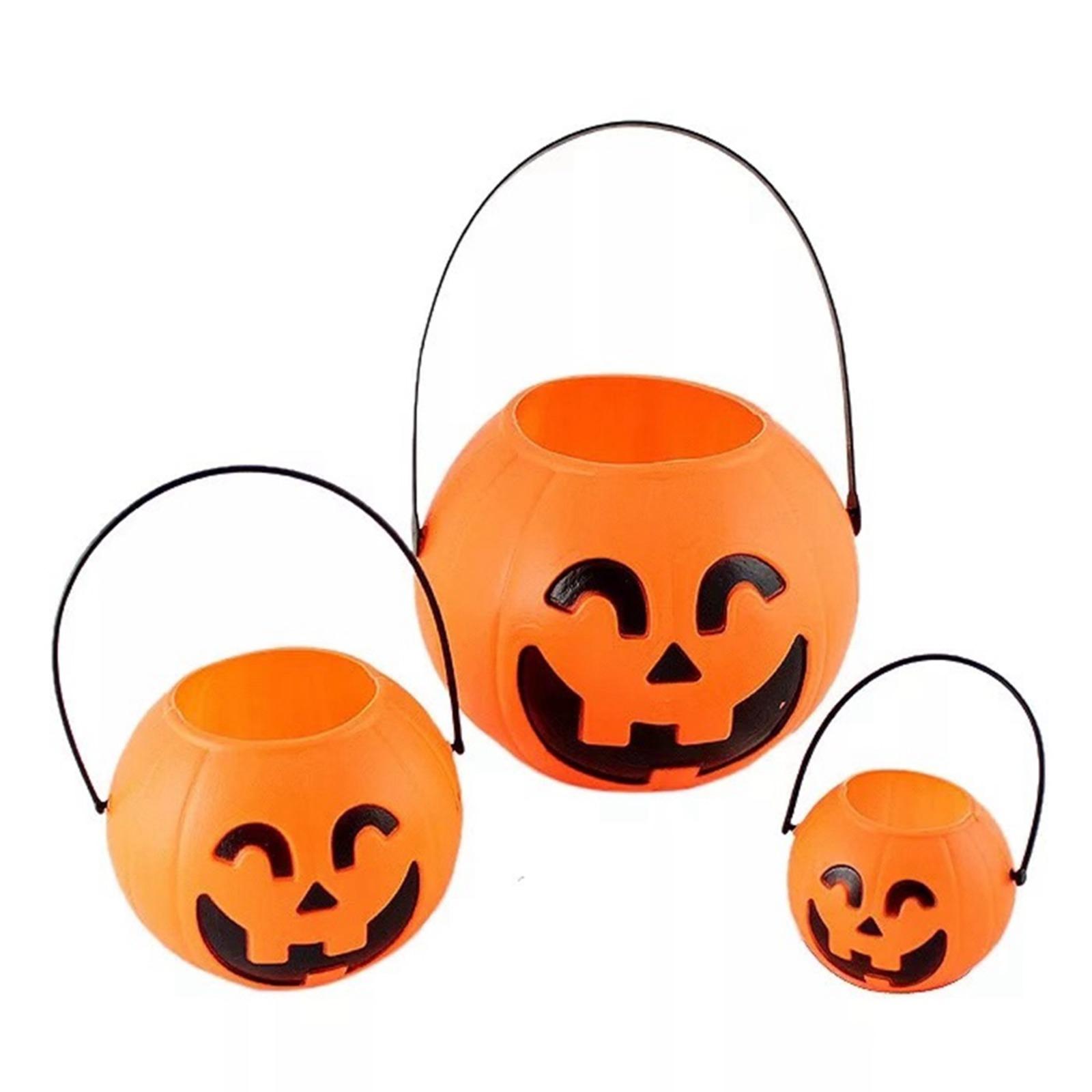 Pumpkin Candy Bucket 7cm