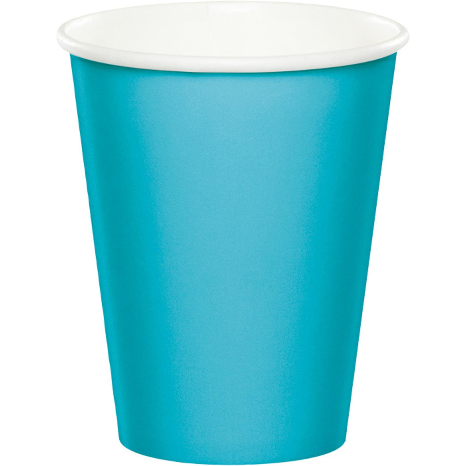 Creative Converting Bermuda Blue 9 Oz Paper Cup