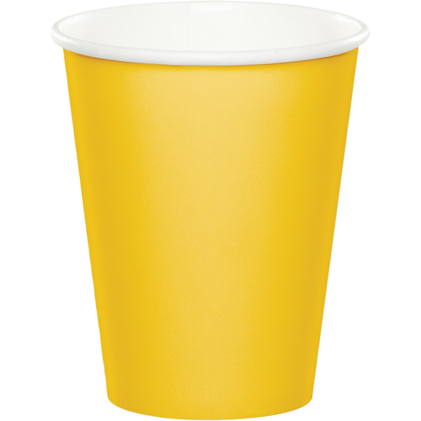 Creative Converting Yellow 9 Oz Paper Cup
