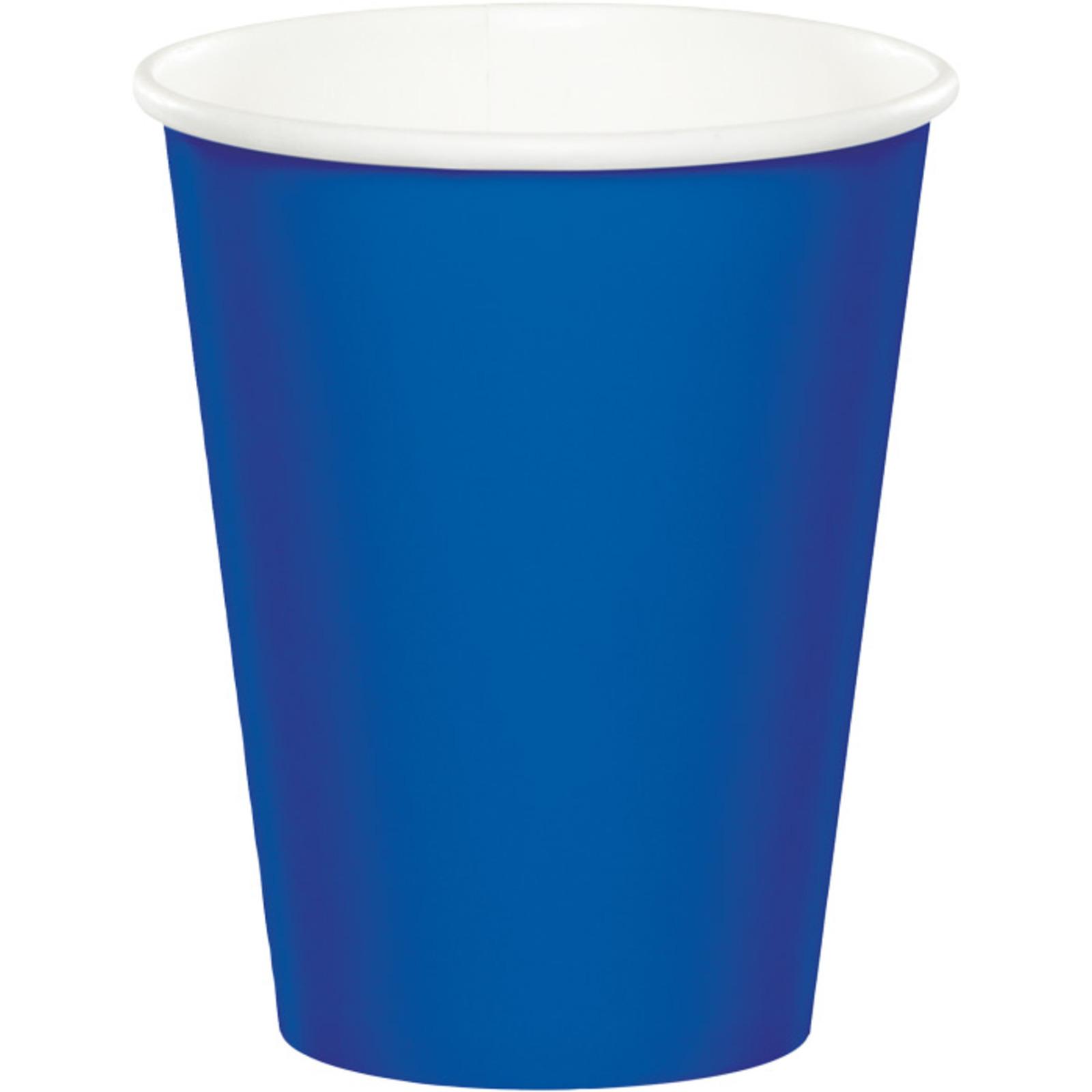 Creative Converting Cobalt Blue 9 Oz Paper Cup