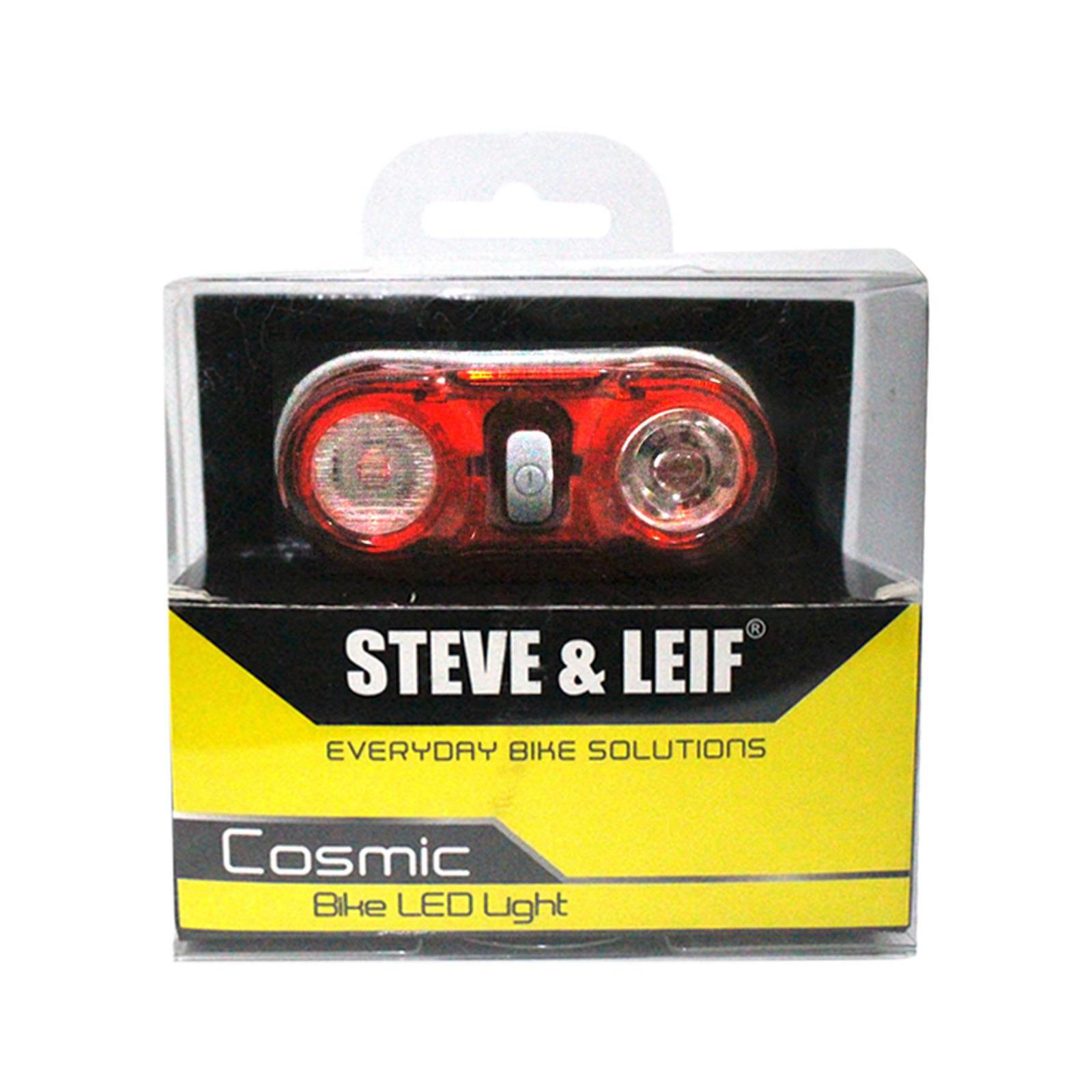 Steve & Leif Cosmic 0.5 Watt LED Red Bicycle TorcH