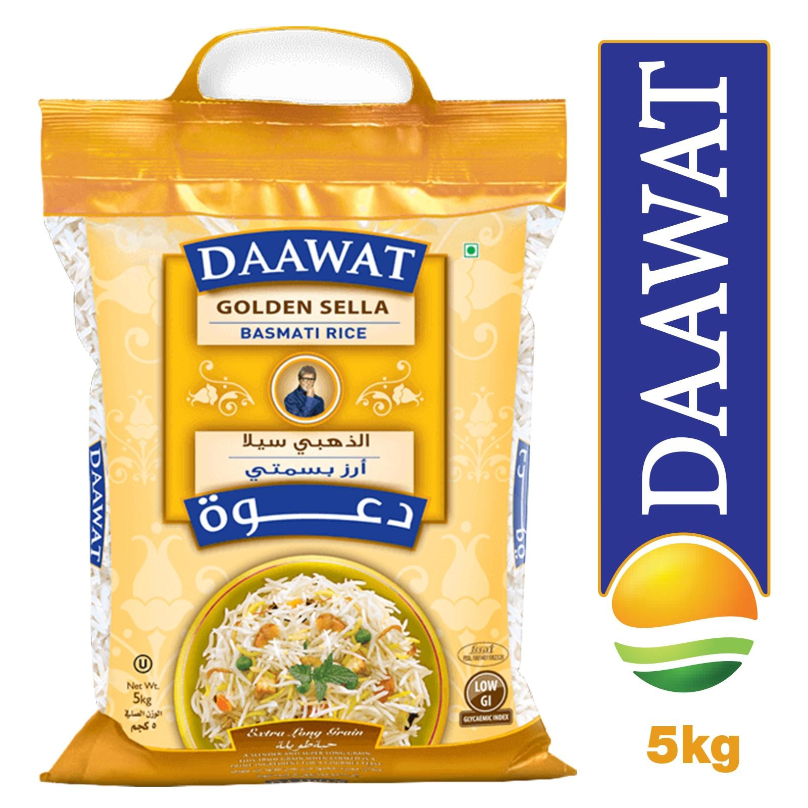 Daawat Golden Sella Basmati Rice - By Sonnamera