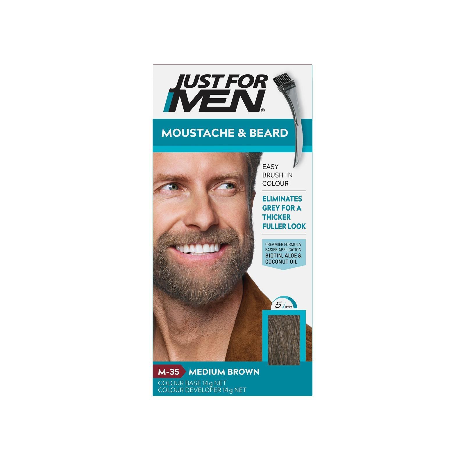 Just For Men Brush-In Color Gel - Medium Brown