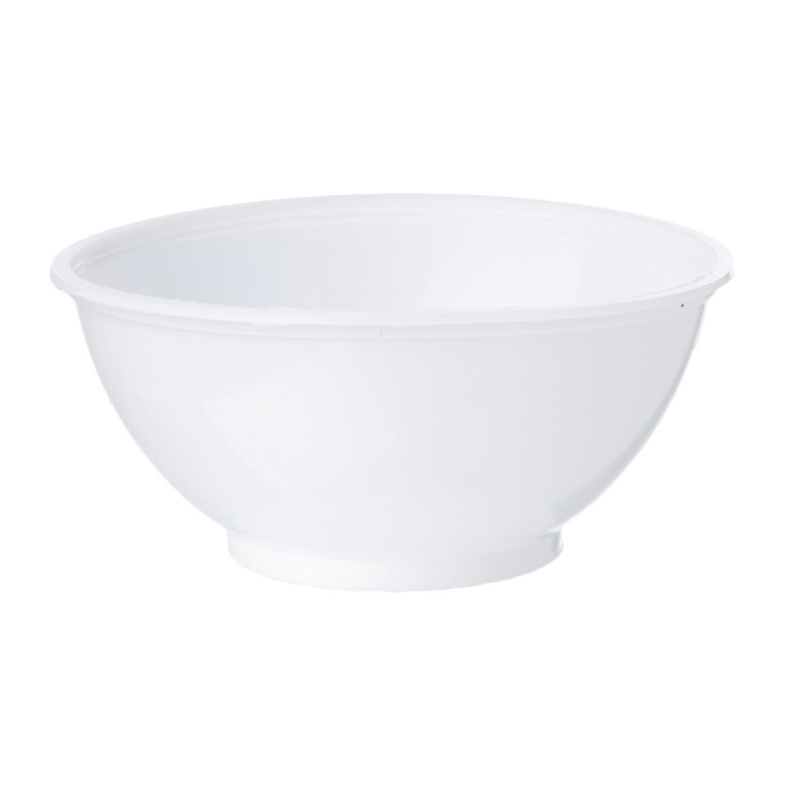 MTRADE Disposable 12 Oz PP White Plastic Bowl