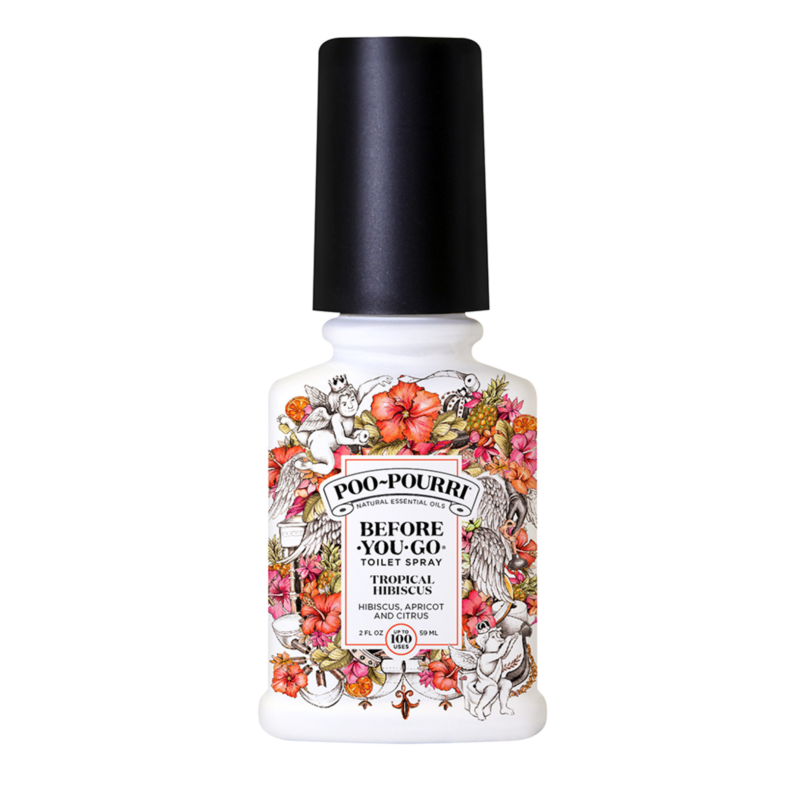 Poo Pourri Toilet Spray 59ml - Tropical Hibiscus