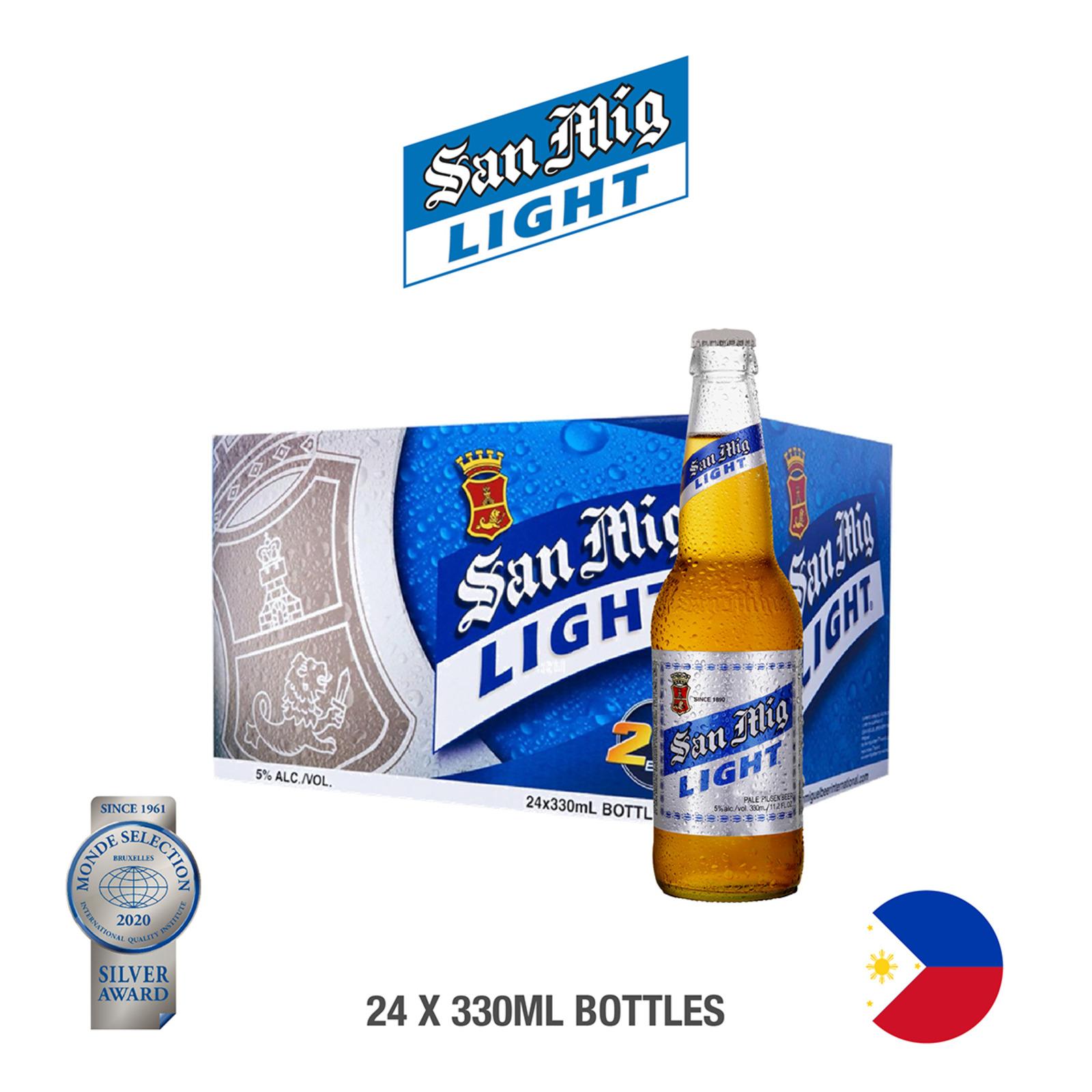 San Miguel Light Bottle - Case