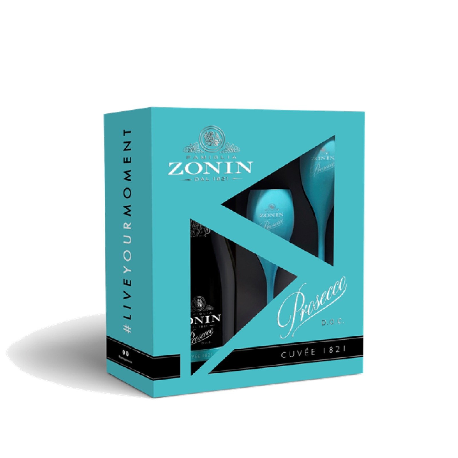 ZONIN CUVEE 1821 PROSECCO GIFT PACK