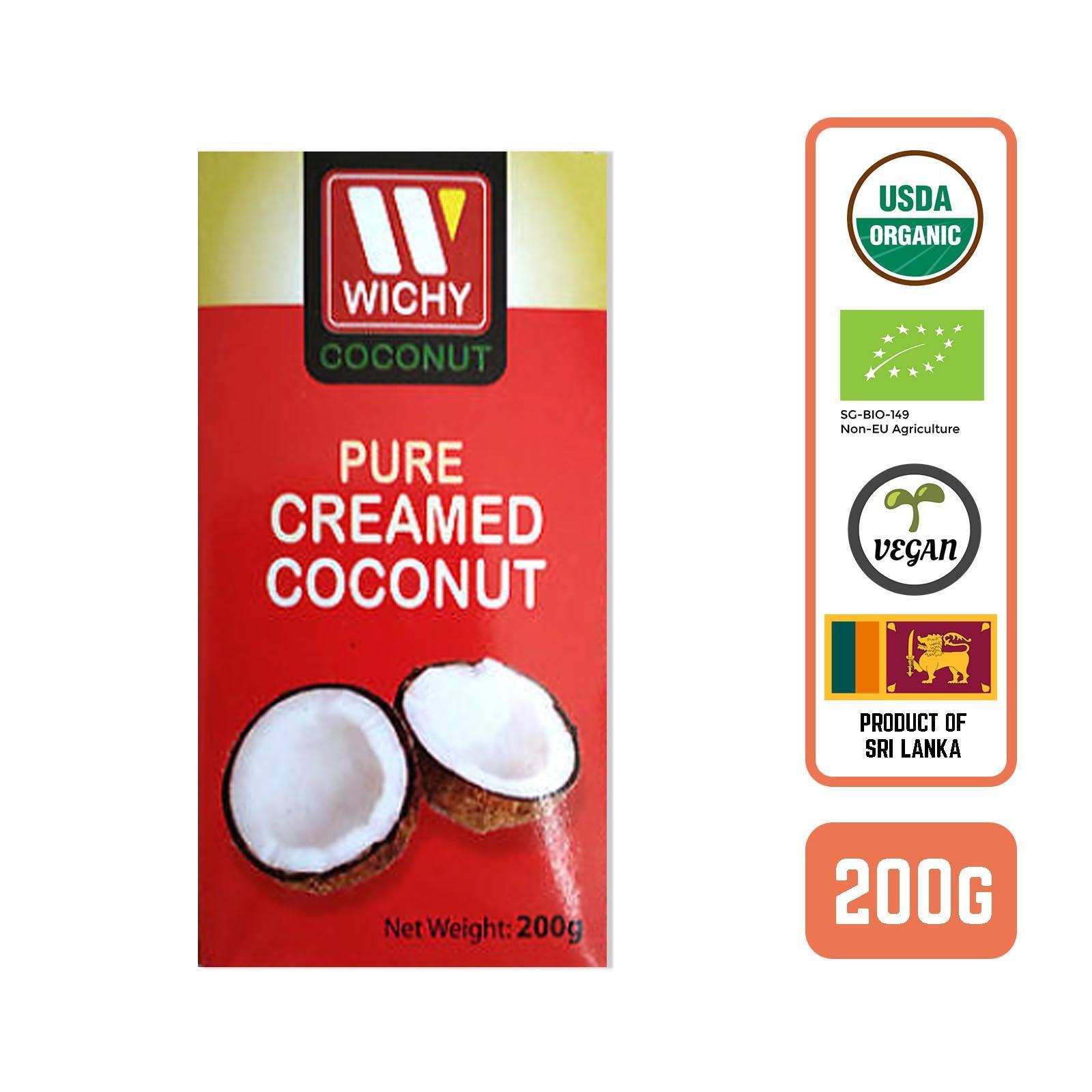 WICHY Organic Coconut Cream - by Foodsterr